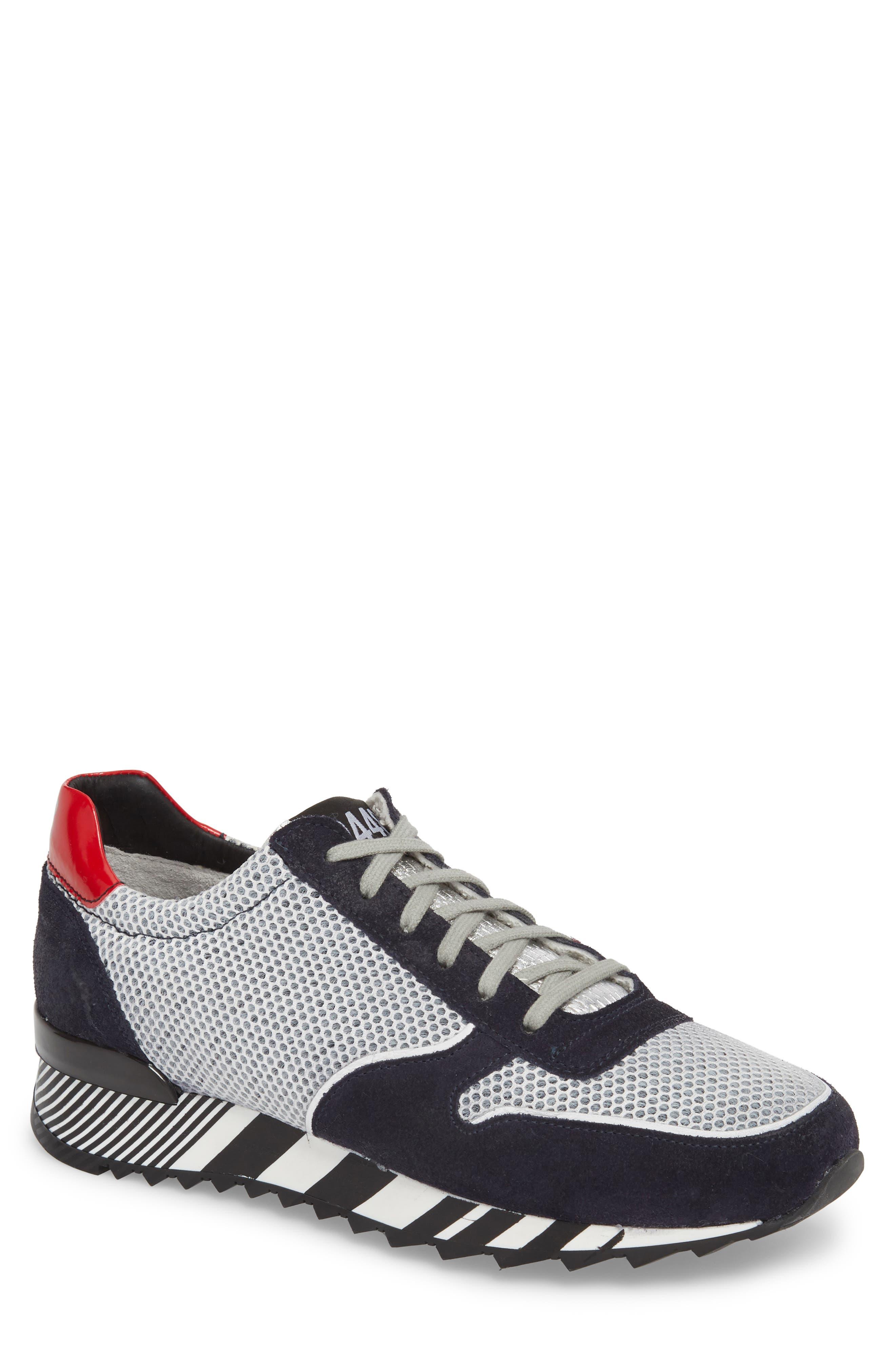 Boston Low Top Sneaker,                             Main thumbnail 1, color,                             Sand Grey