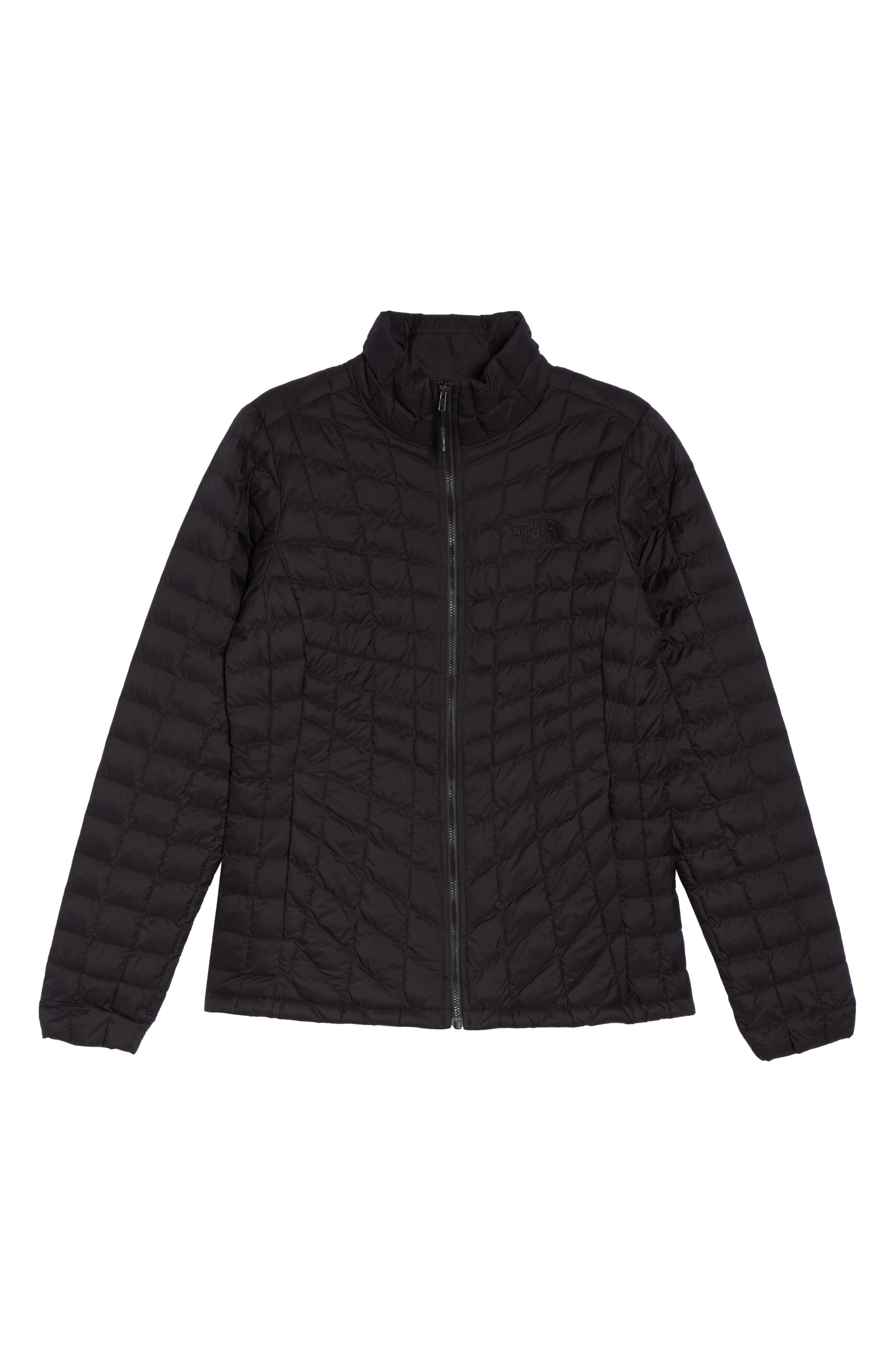 ThermoBall<sup>™</sup> Full Zip Jacket,                             Alternate thumbnail 8, color,                             Black Matte