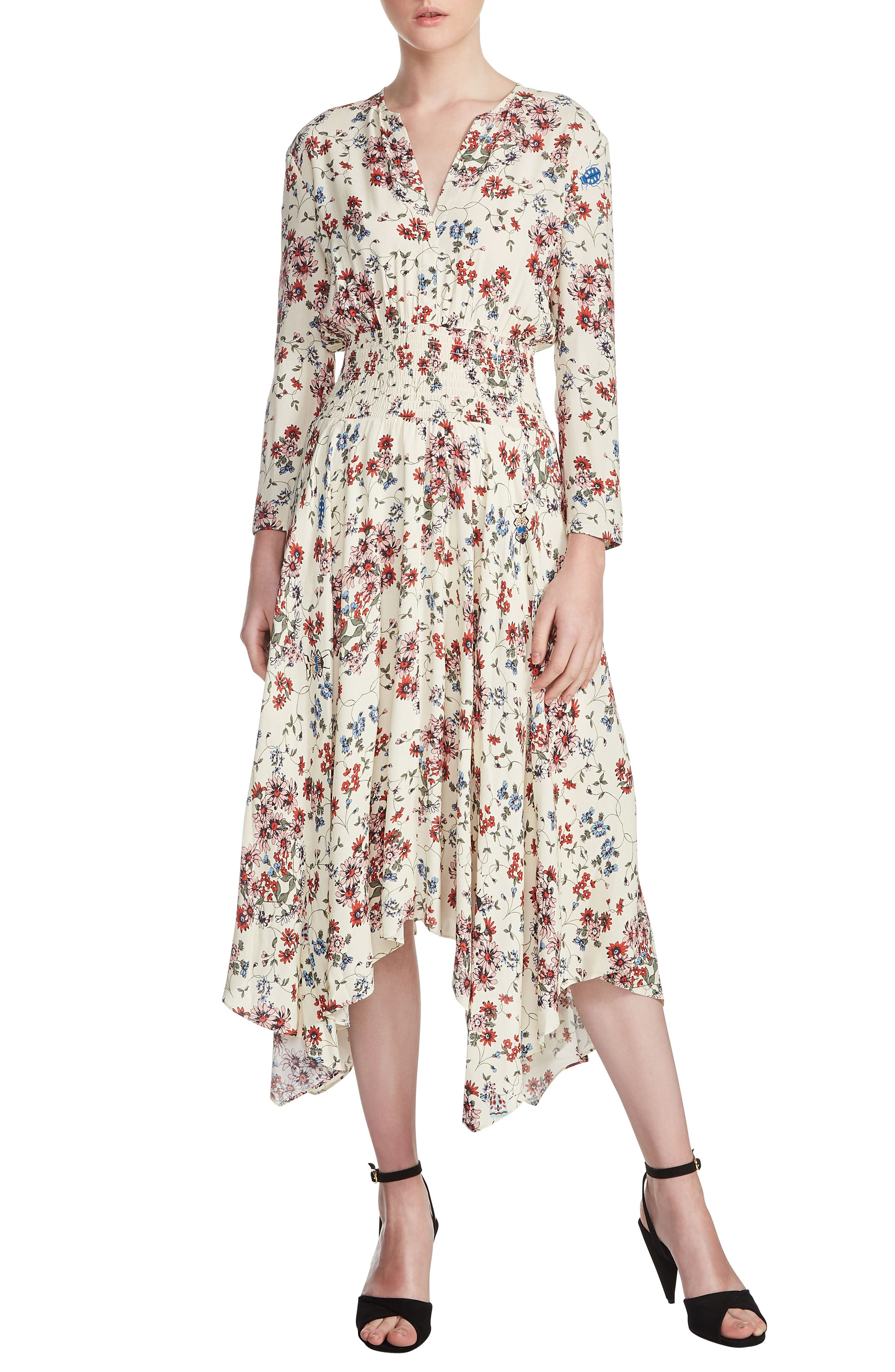 maje Rayine Midi Dress