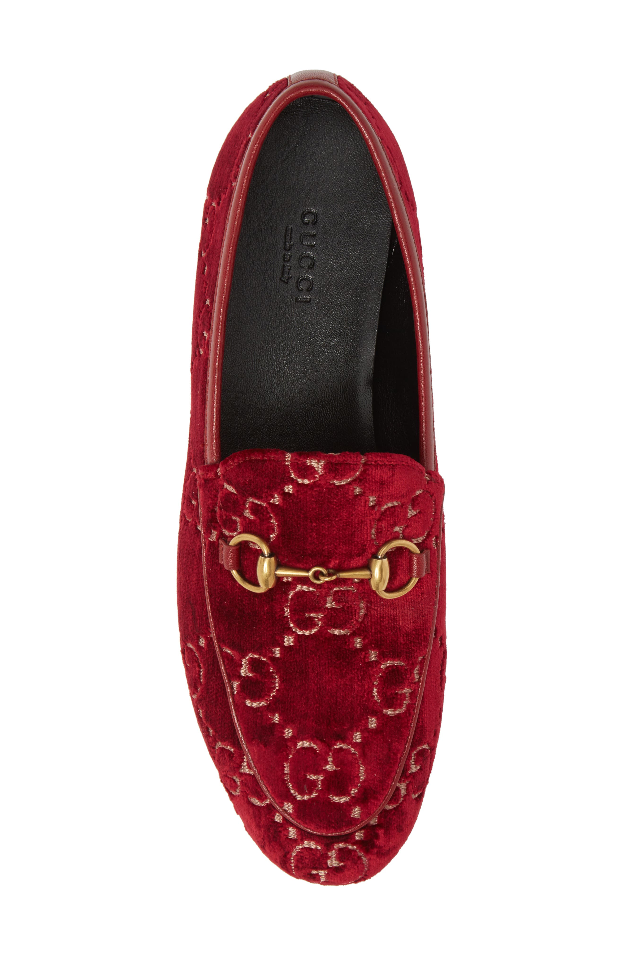 Jordaan Loafer,                             Alternate thumbnail 5, color,                             Red