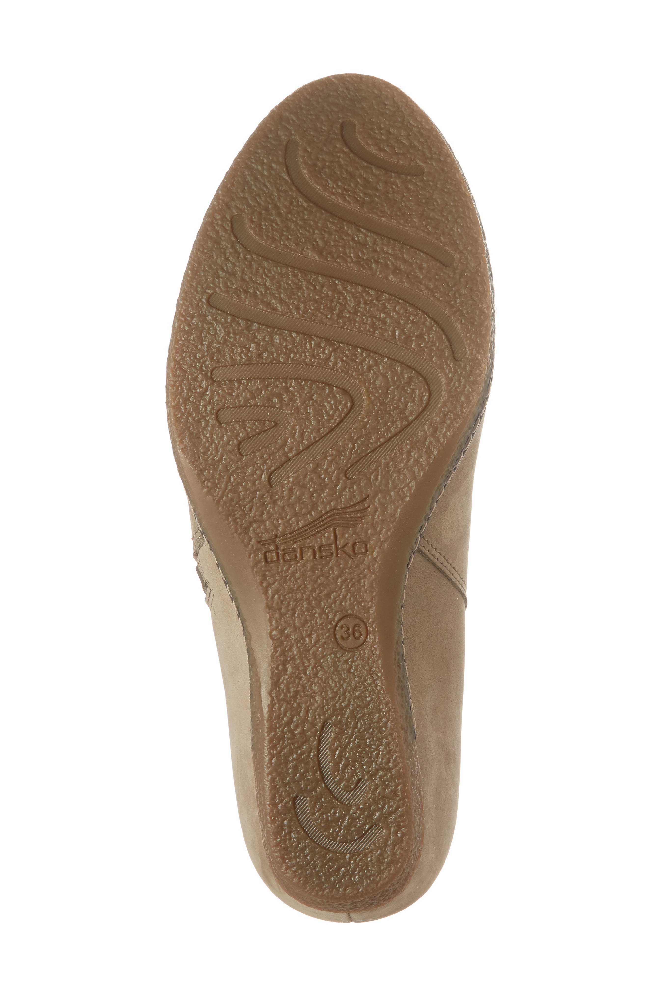 Leanna Bootie,                             Alternate thumbnail 6, color,                             Taupe Burnished Nubuck