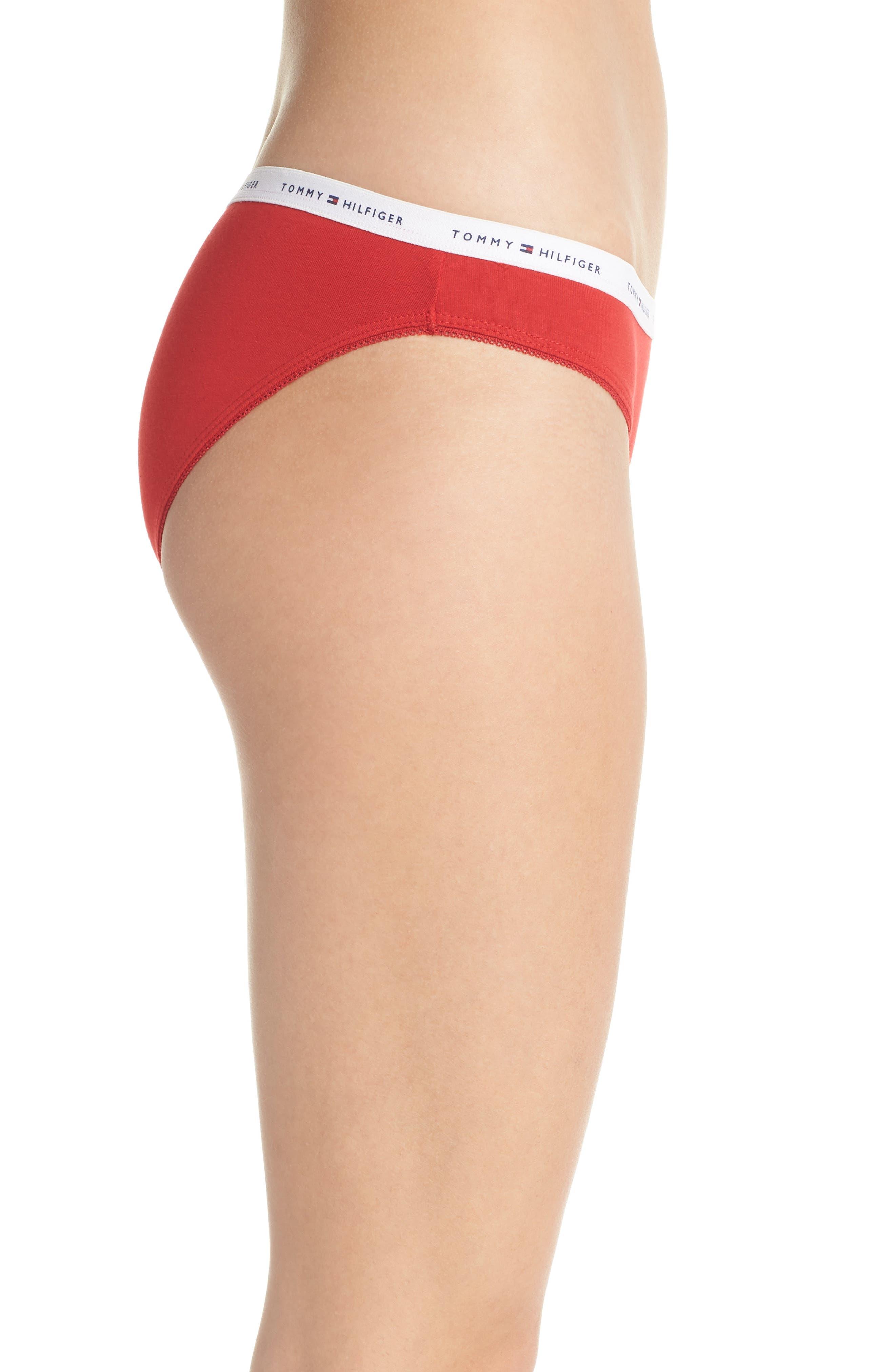 Logo Bikini,                             Alternate thumbnail 3, color,                             Apple Red