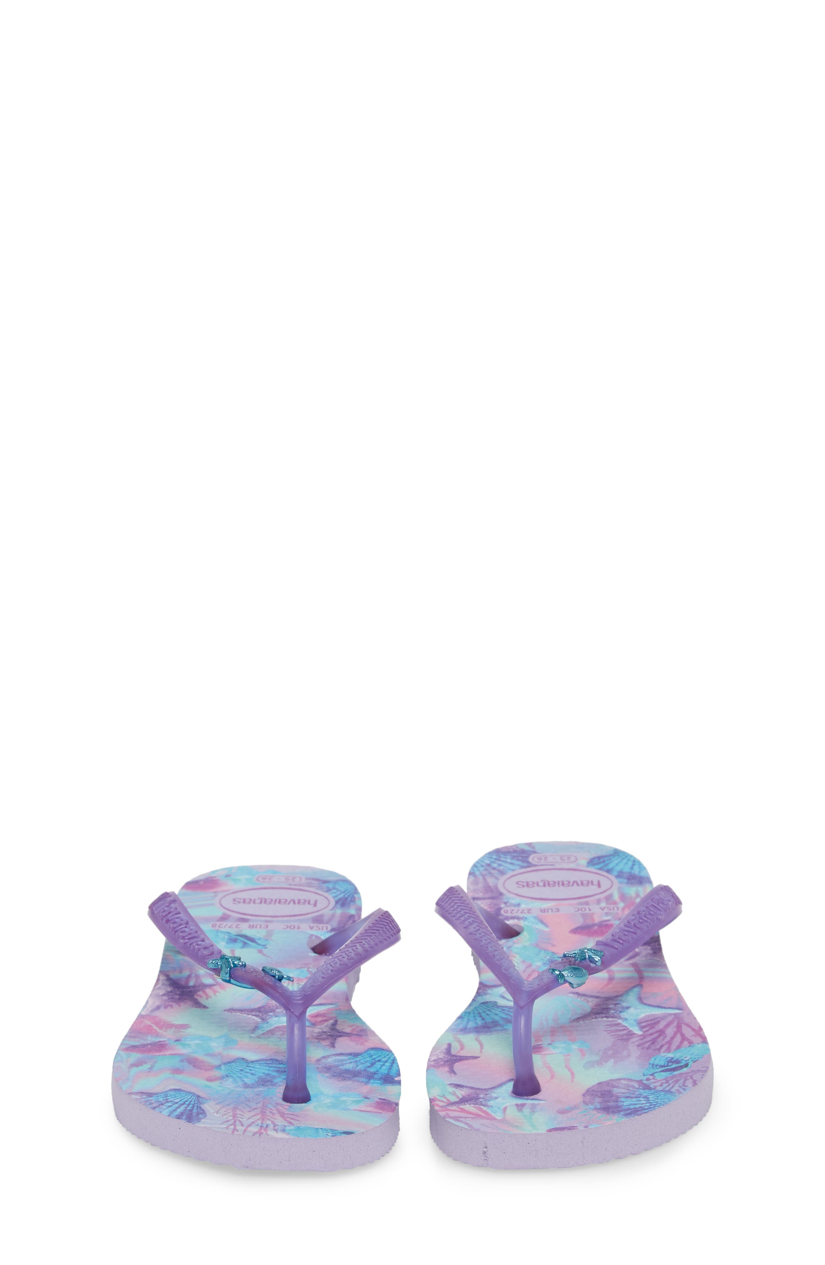 Havianas Slim Summer Flip Flop,                             Alternate thumbnail 5, color,                             Lavender