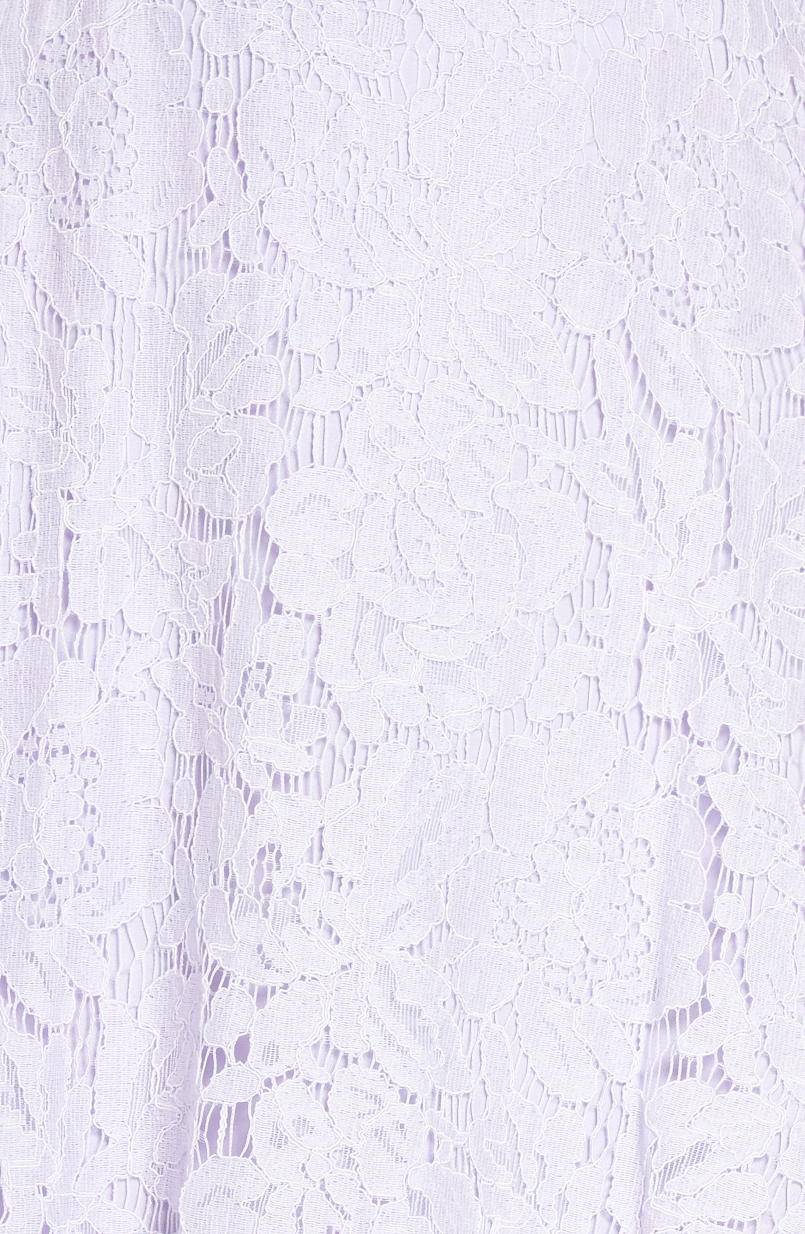 The Fiona Lace Minidress,                             Alternate thumbnail 5, color,                             Lilac