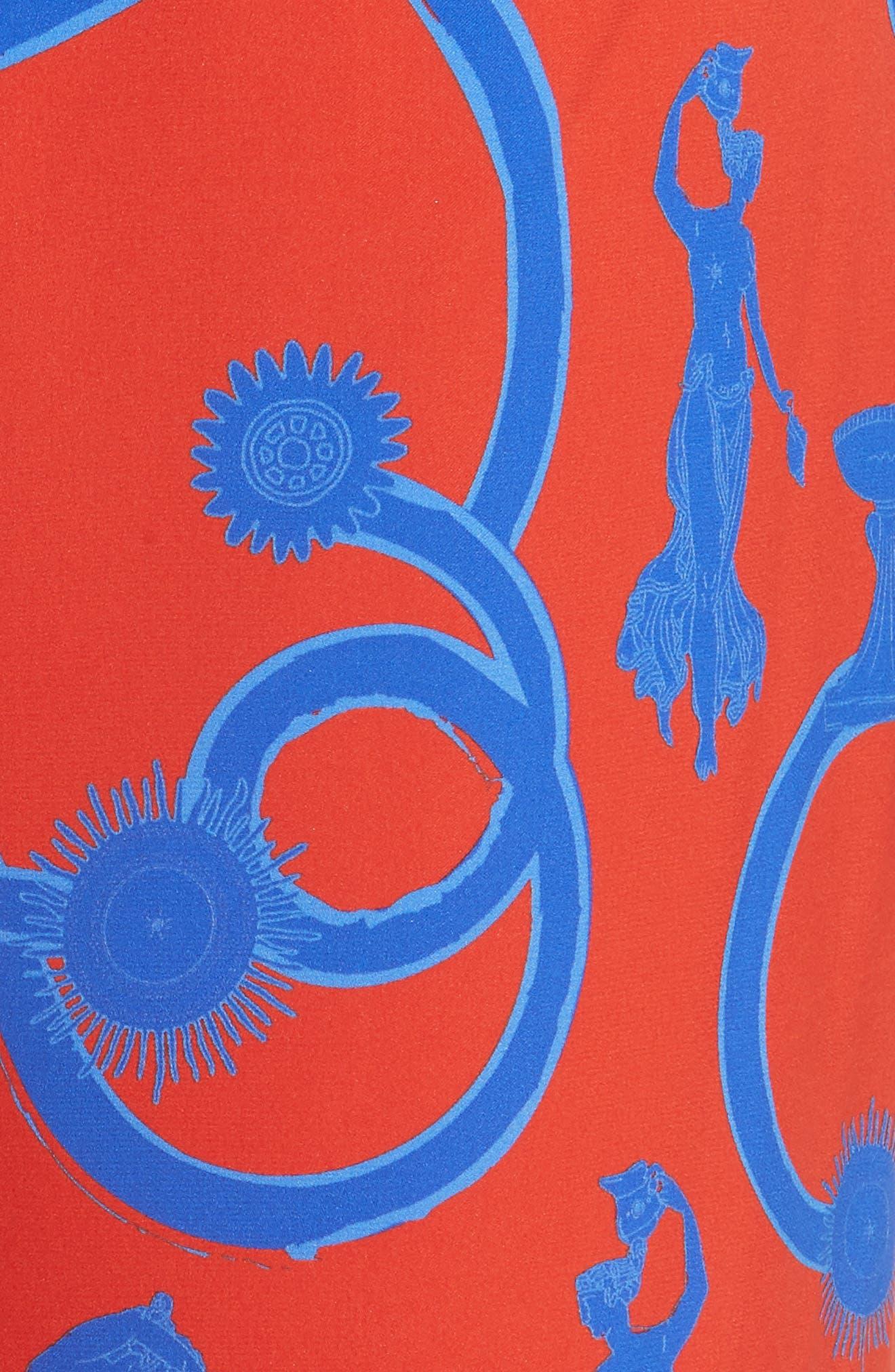 Speed of Light Wide Leg Flare Pants,                             Alternate thumbnail 5, color,                             Bathers Of Venus