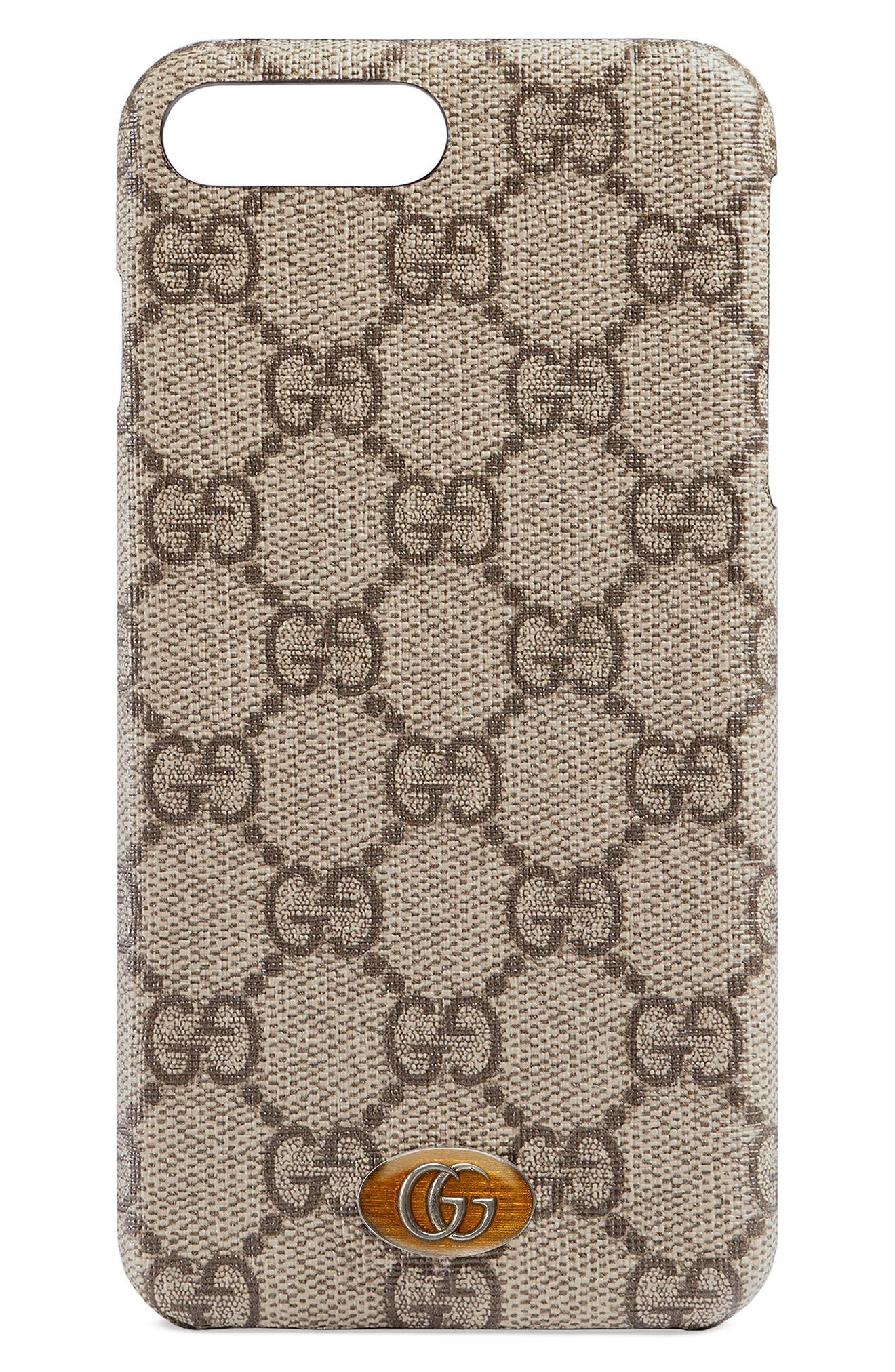 Gucci GG Supreme iPhone 8+ Case