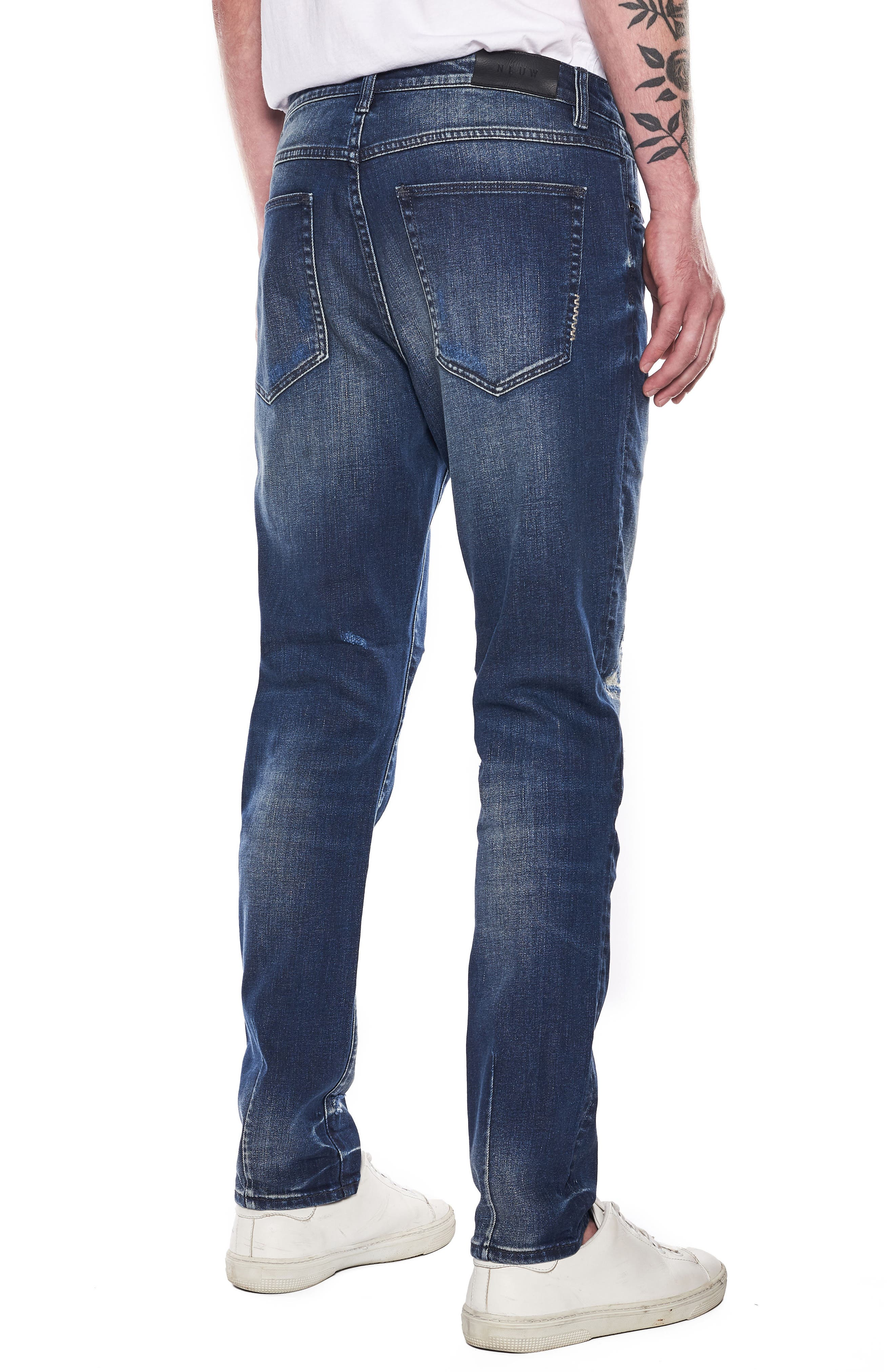 Ray Slouchy Slim Fit Jeans,                             Alternate thumbnail 2, color,                             Ink Repair