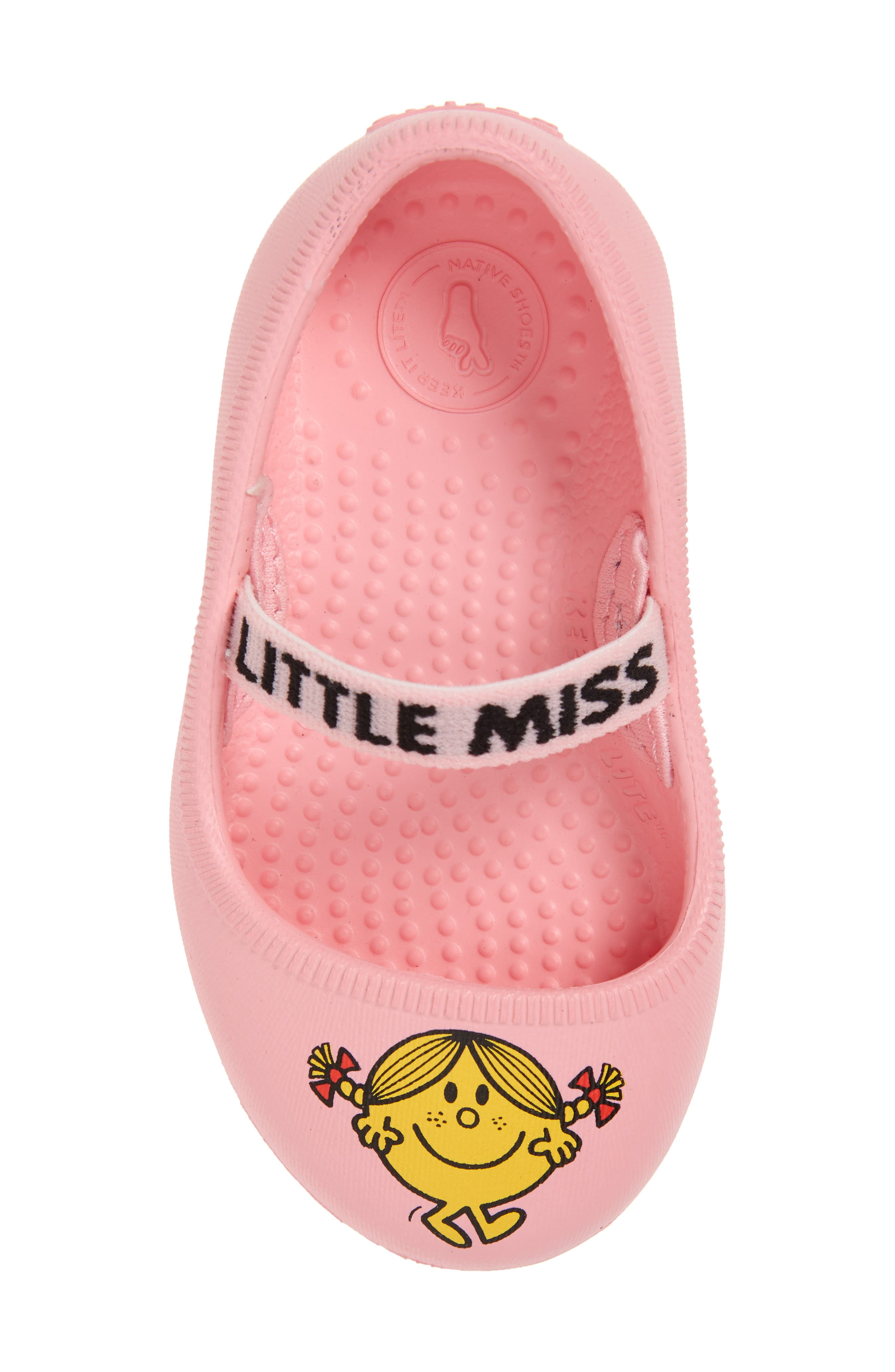Margot Mary Jane Flat,                             Alternate thumbnail 6, color,                             Pink/ Little Miss Sunshine
