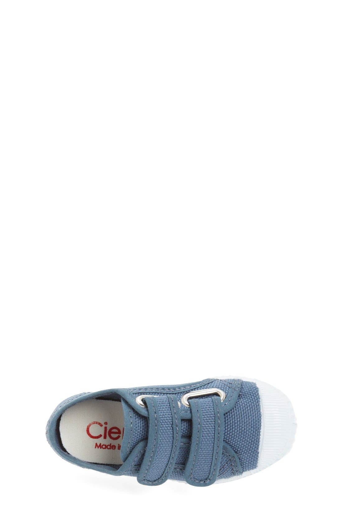 Canvas Sneaker,                             Alternate thumbnail 3, color,                             Grey