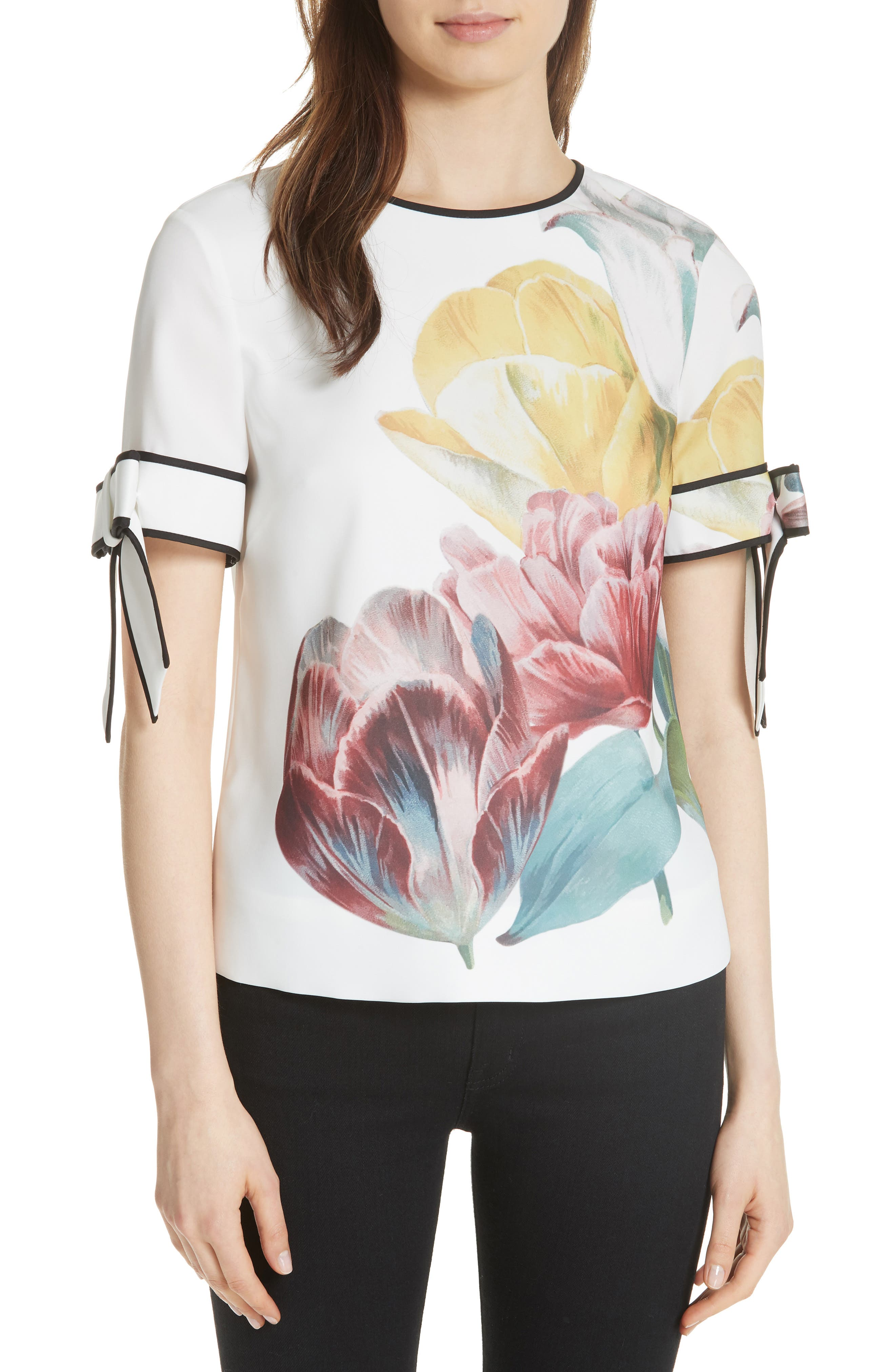 Alternate Image 1 Selected - Ted Baker London Pollie Tranquility Top