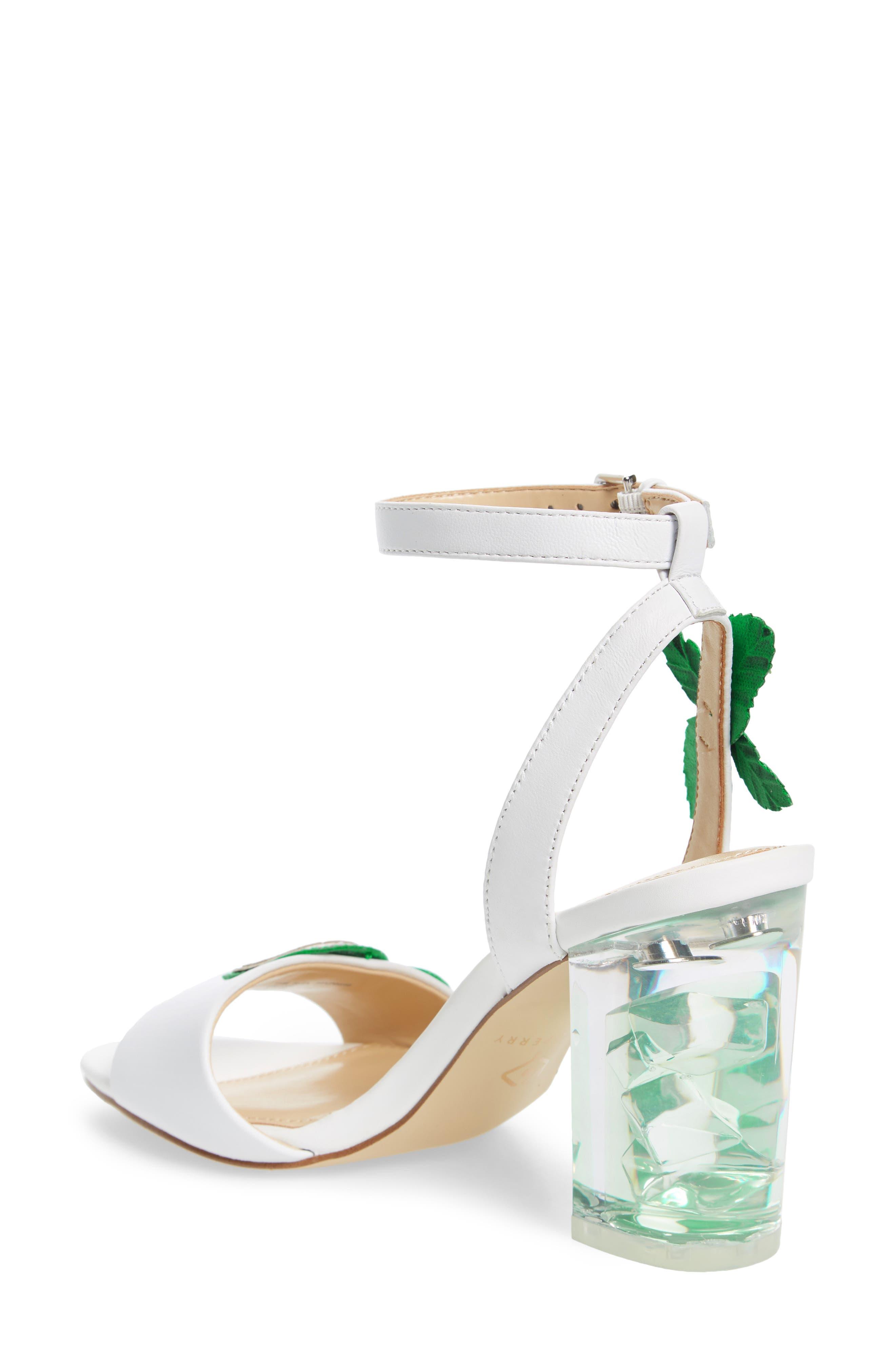 Rita Mohito Sandal,                             Alternate thumbnail 2, color,                             White/ Lime