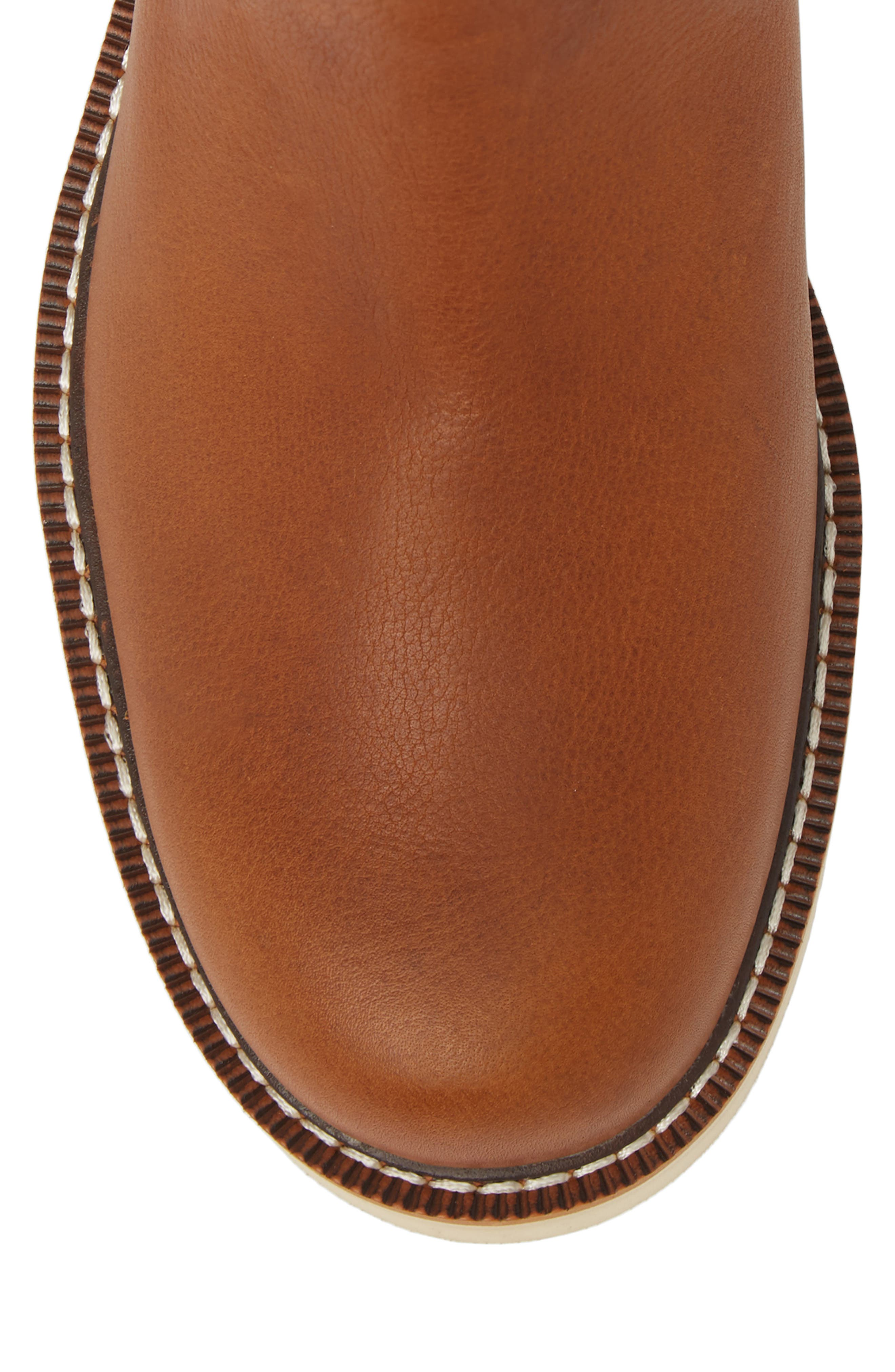 Rambler Recon Mid Chelsea Boot,                             Alternate thumbnail 5, color,                             Golden Grizzly