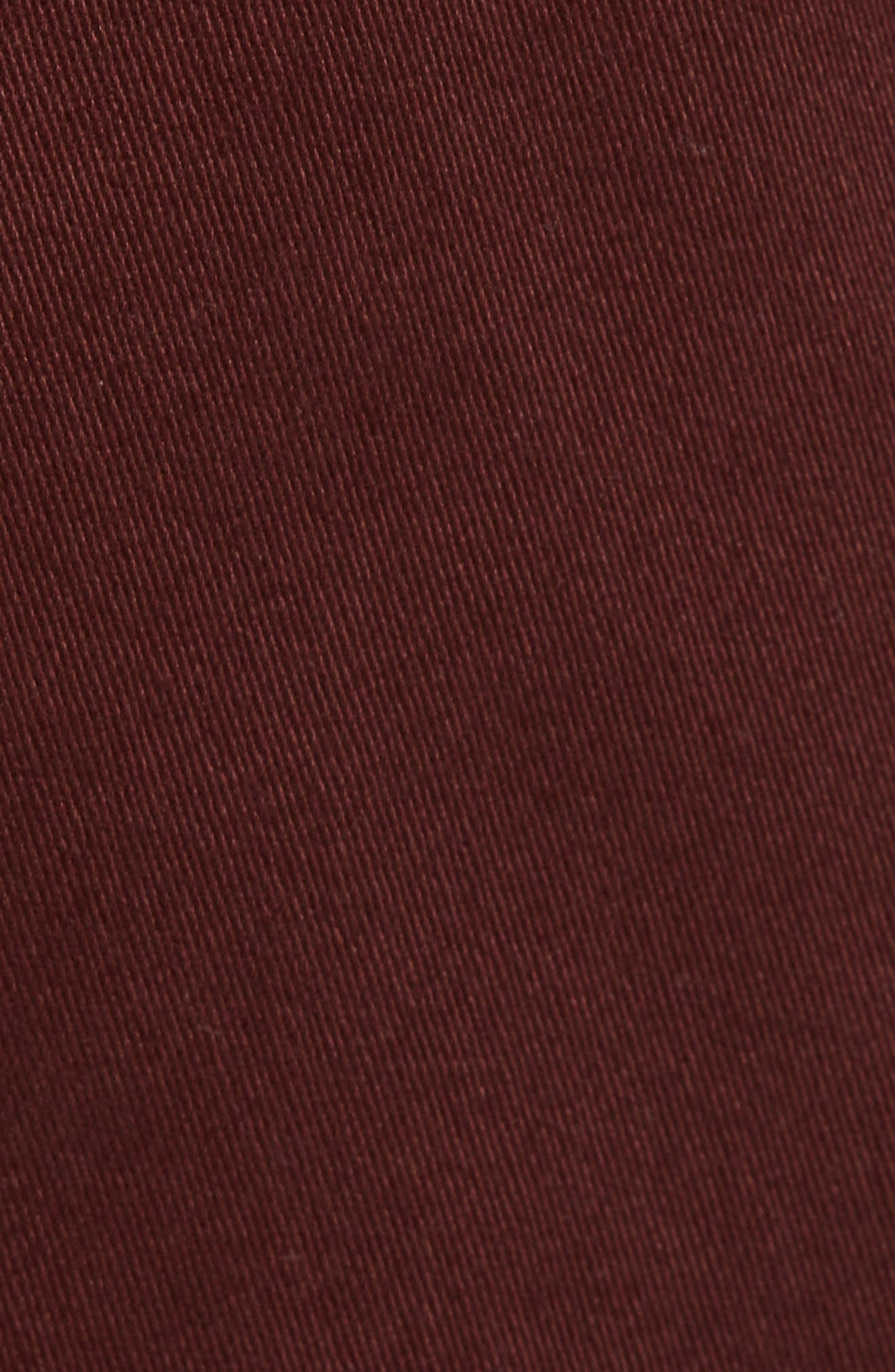 Weekday Shorts,                             Alternate thumbnail 5, color,                             Burgundy