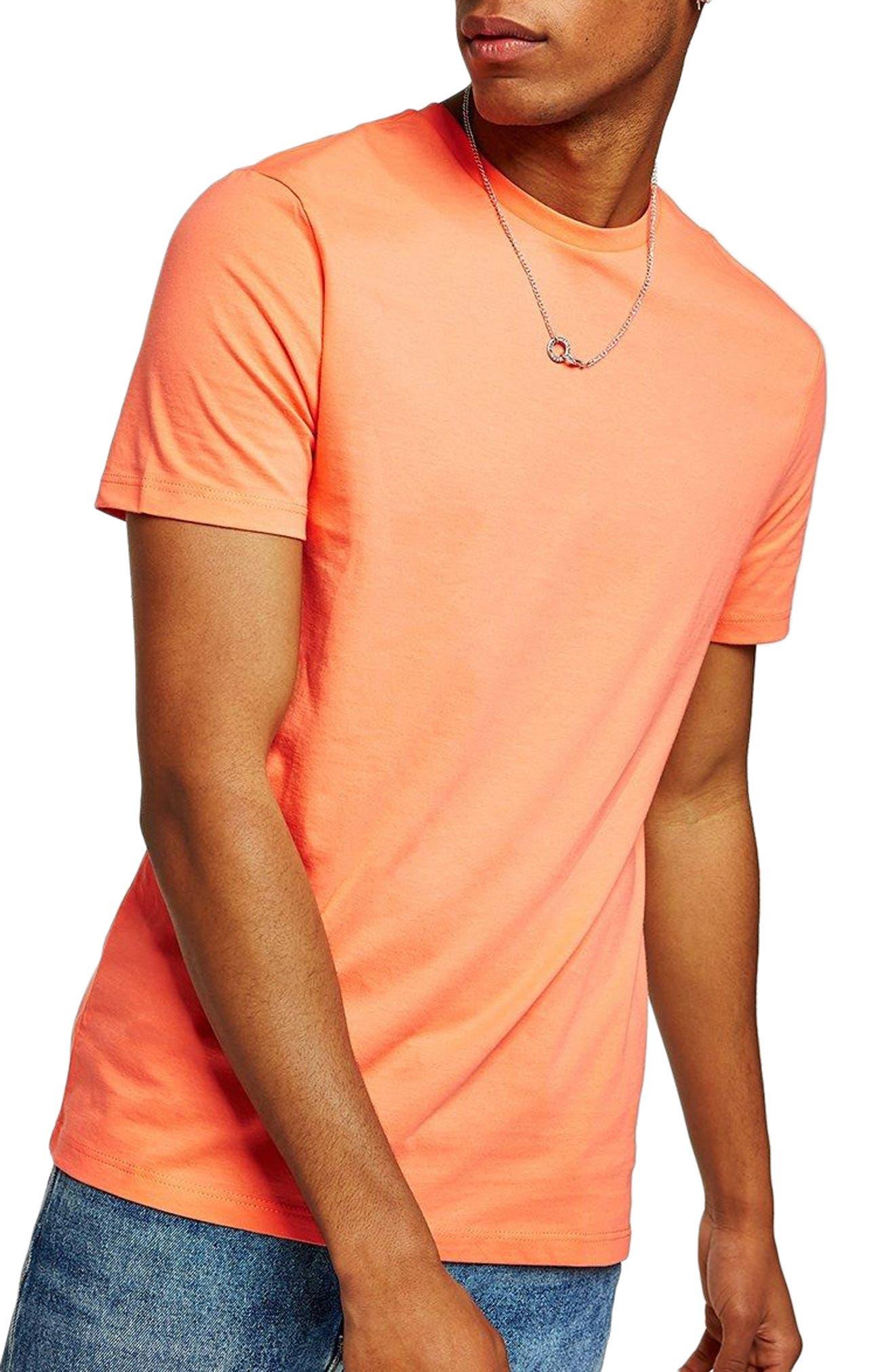 Topman Slim Fit Crewneck T-Shirt