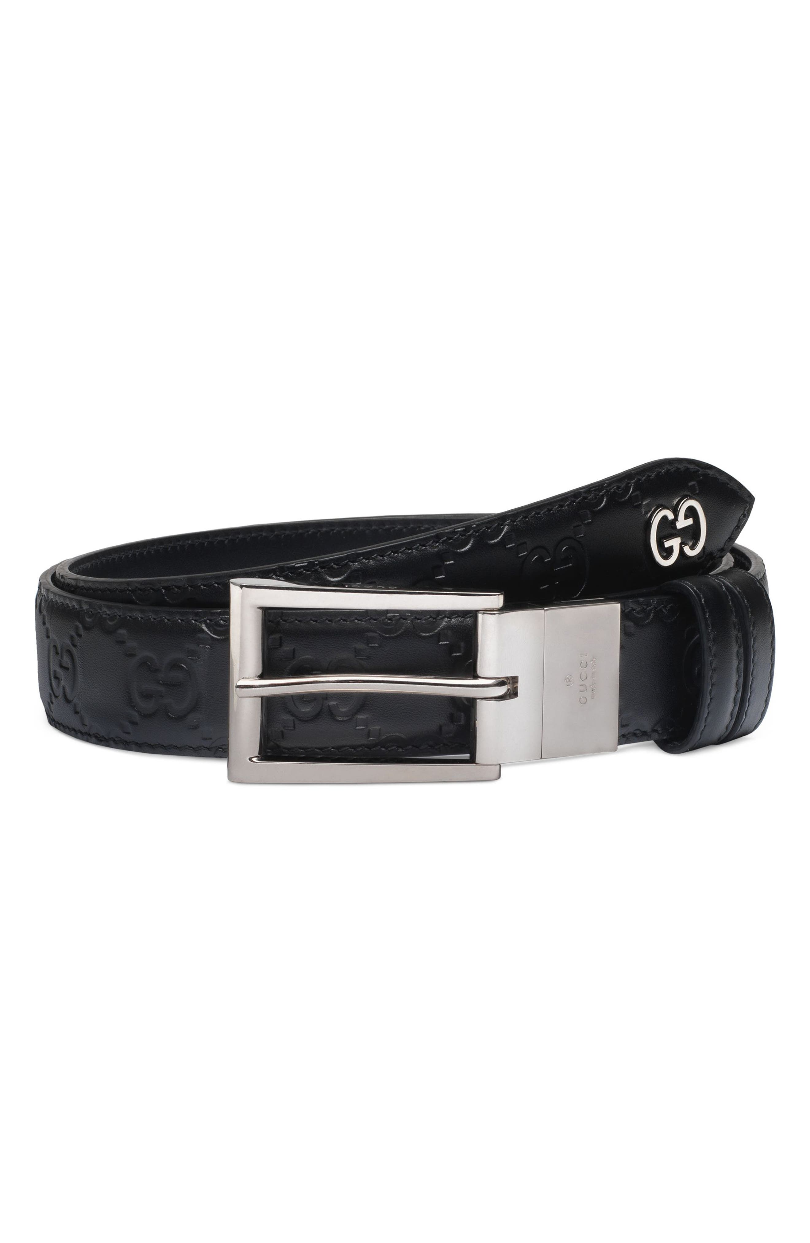 Gucci Reversible Signature Leather Belt