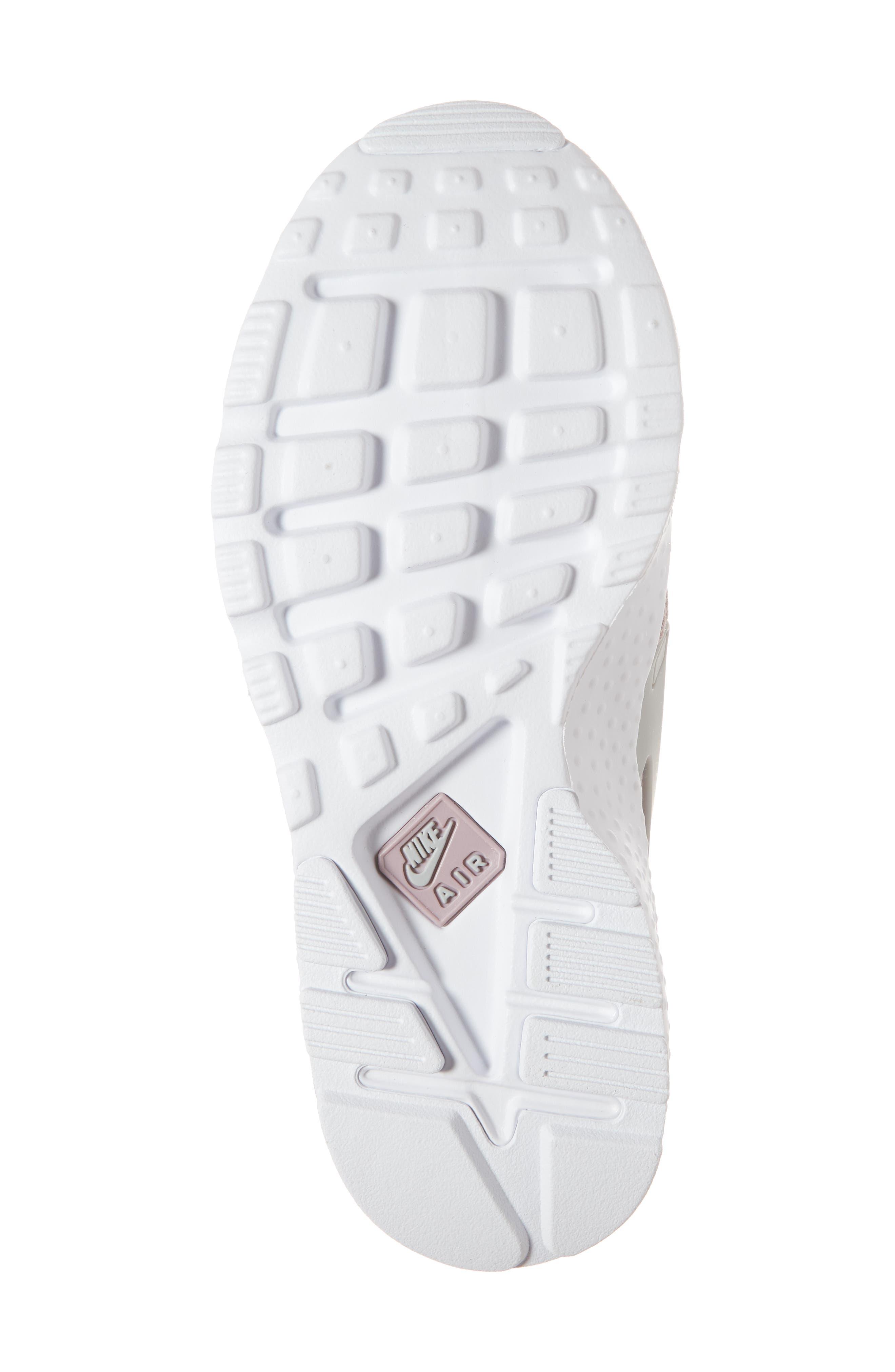 Air Huarache Sneaker,                             Alternate thumbnail 6, color,                             Elemental Rose/ Wolf Grey