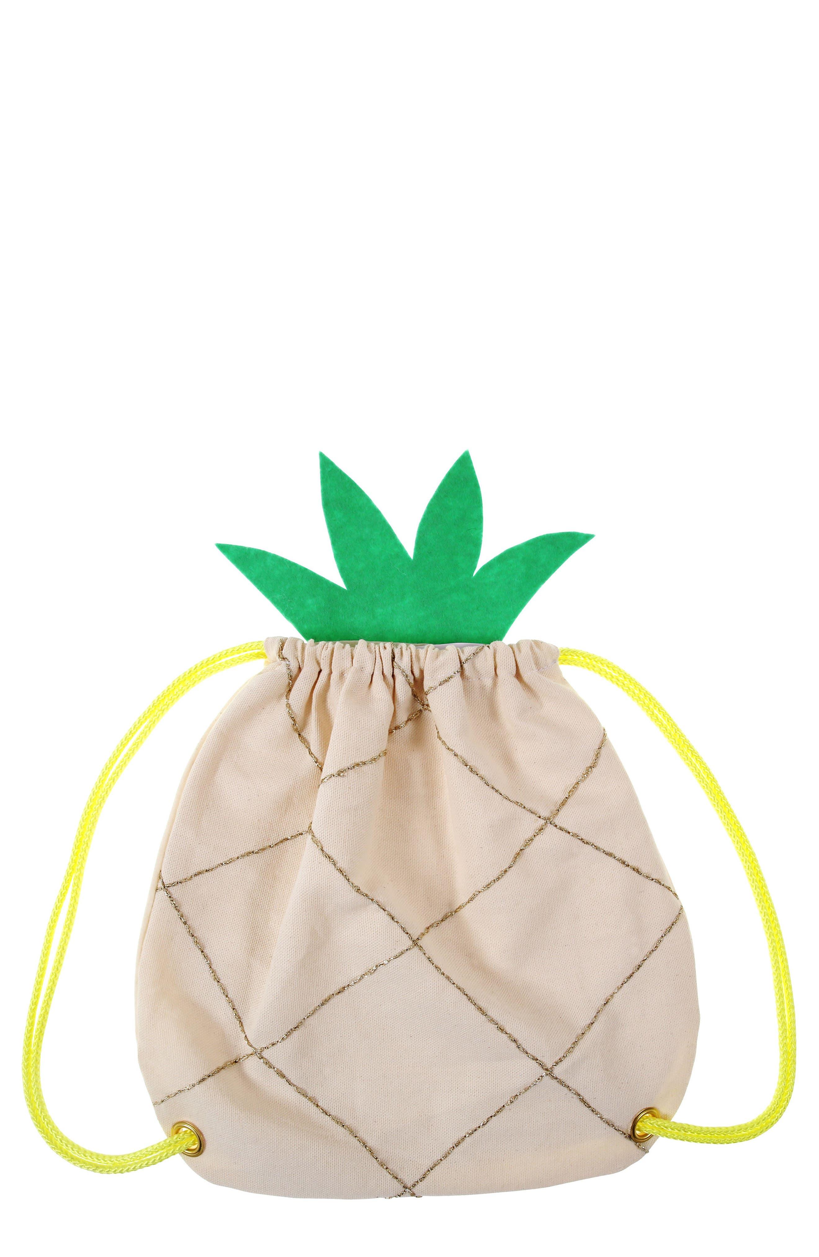 Backback Drawstring Bag,                         Main,                         color, Tan