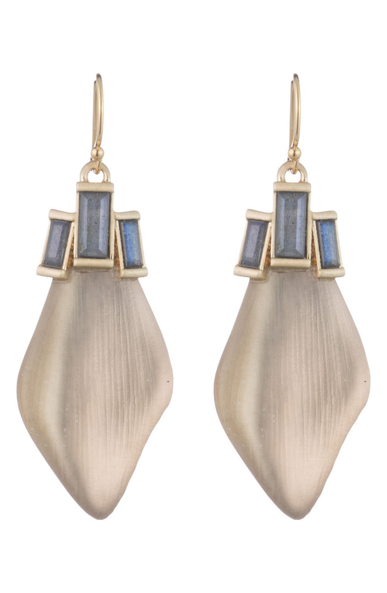 Alexis Bittar Dancing Baguette Drop Earrings