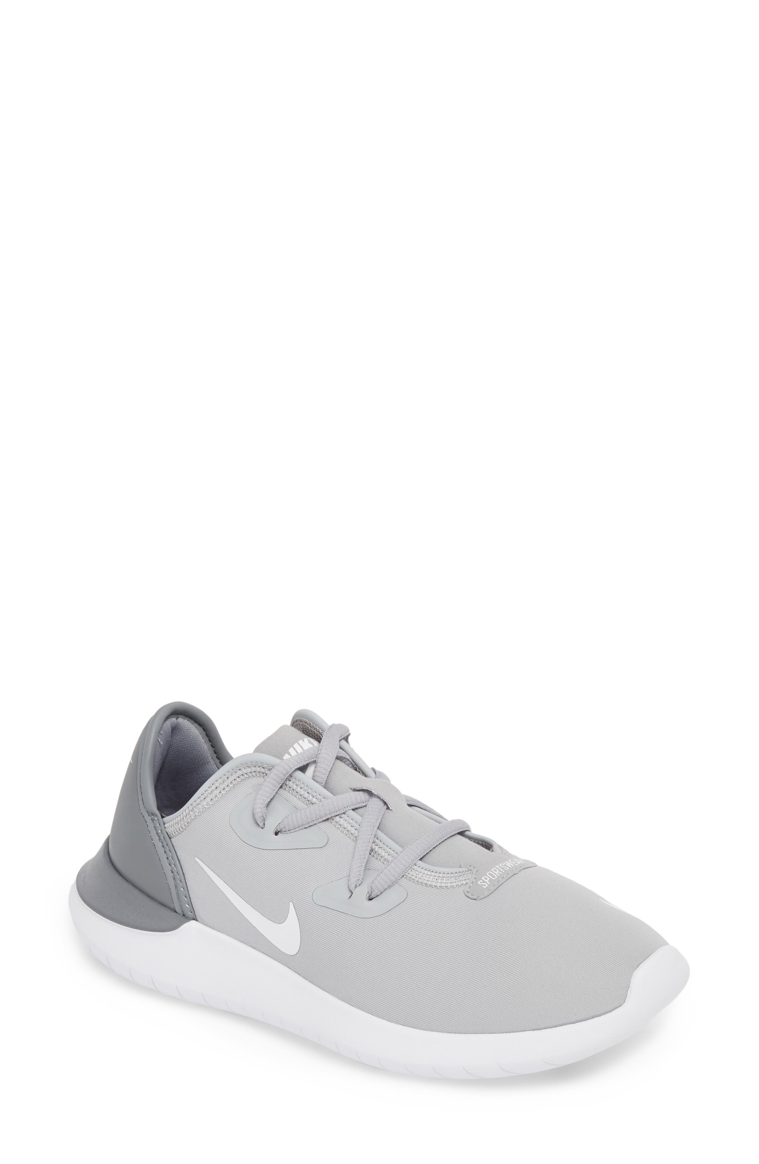 Hakata Sneaker,                         Main,                         color, Wolf Grey/ White