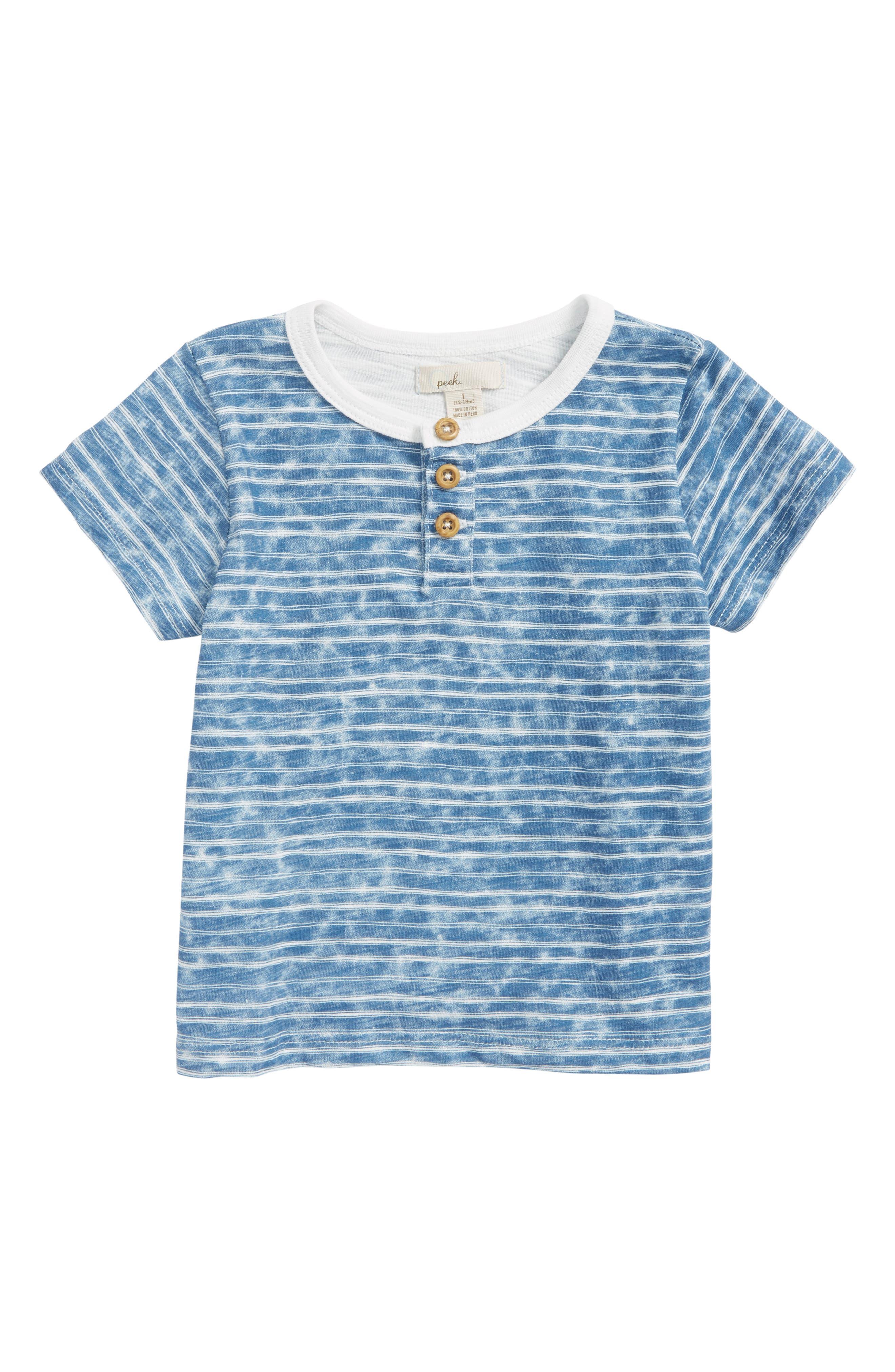 Peek Brandon T-Shirt,                         Main,                         color, Navy