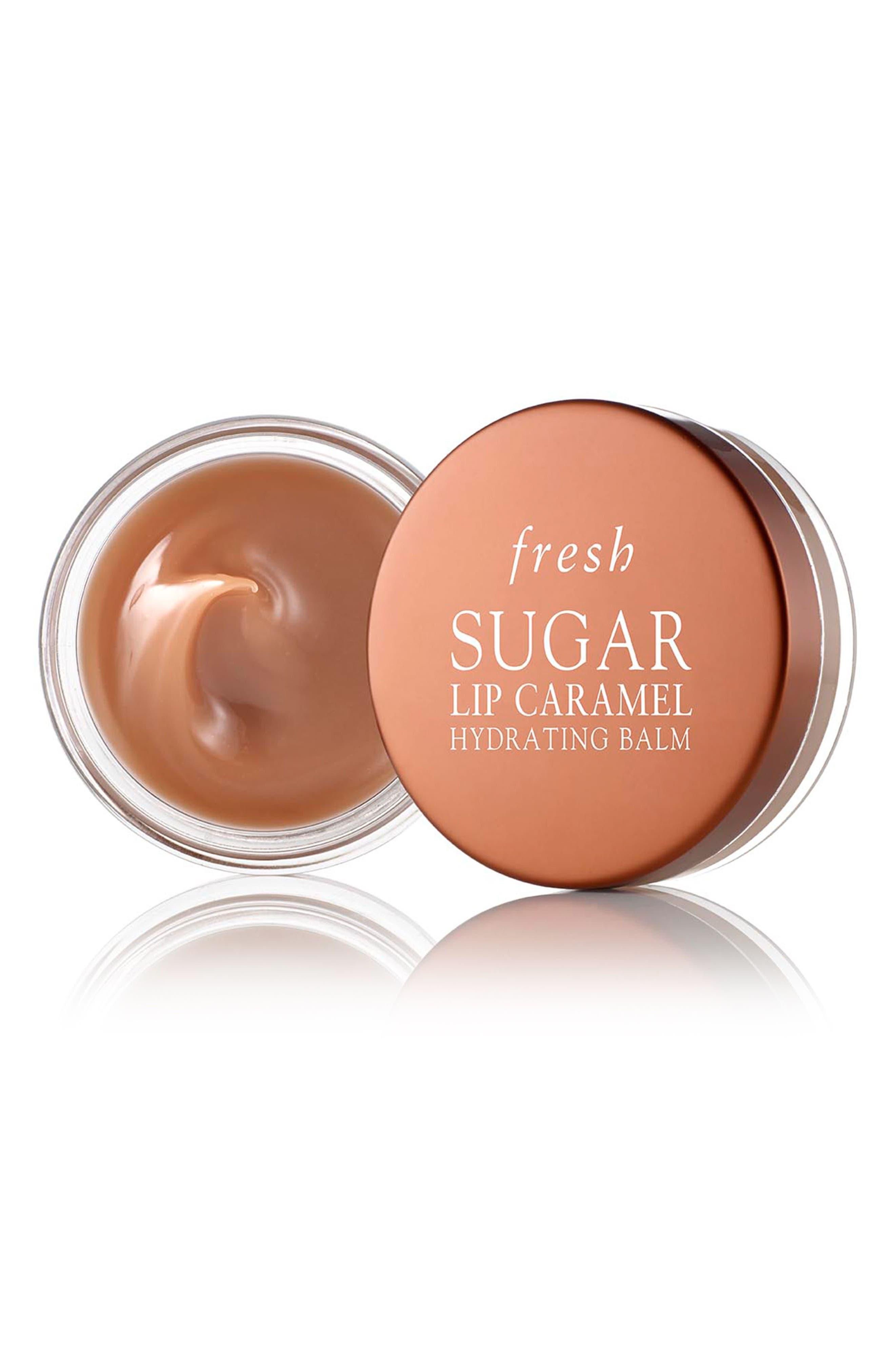 Lip Sugar Hydrating Lip Balm,                             Main thumbnail 1, color,                             Caramel