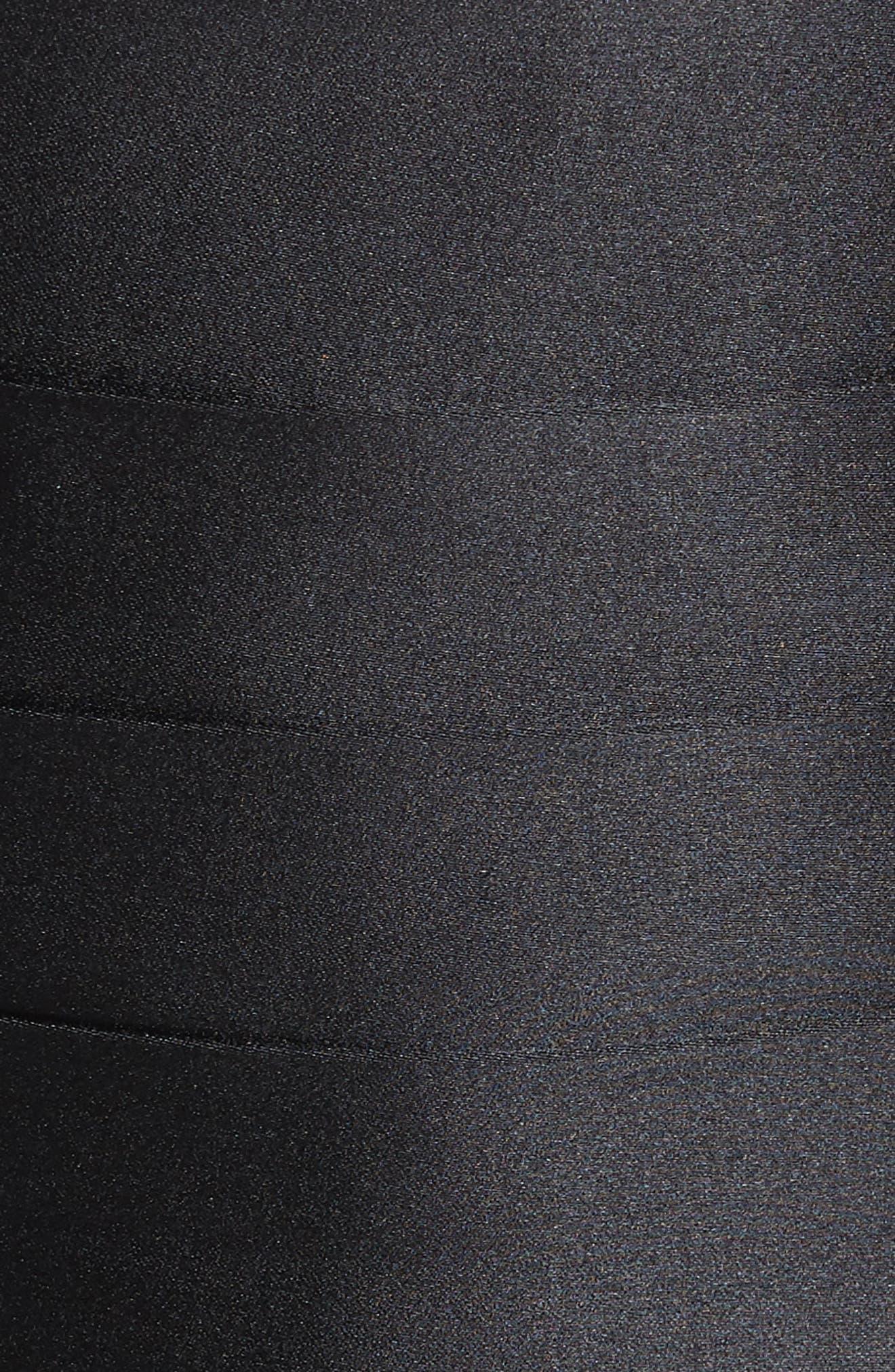 Silk Cummerbund & Bow Tie Set,                             Alternate thumbnail 2, color,                             Black