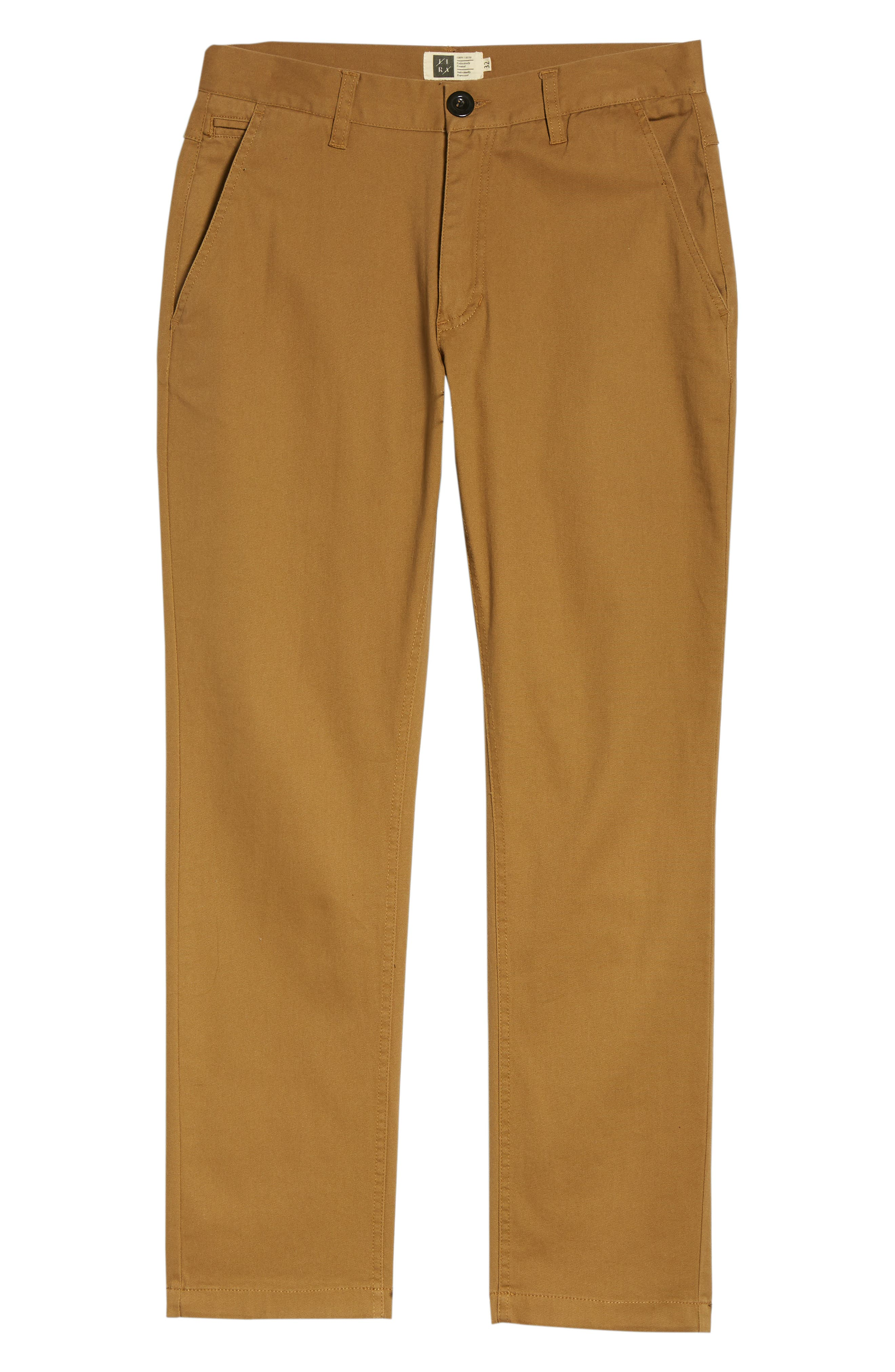 Crossroad Slim Fit Pants,                             Alternate thumbnail 6, color,                             Khaki