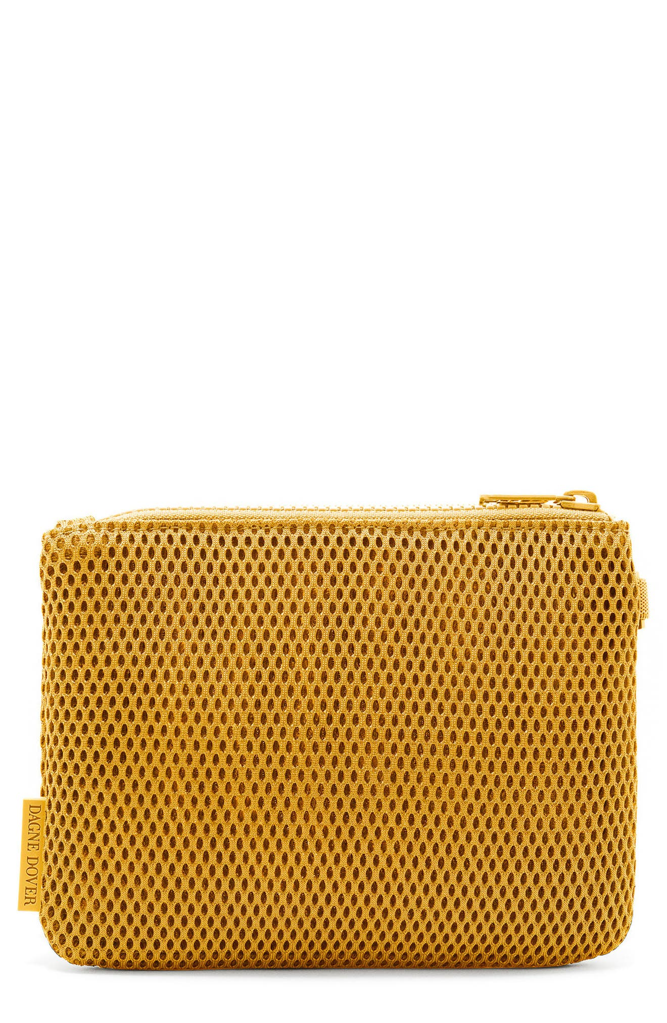 SMALL PARKER MESH POUCH - YELLOW