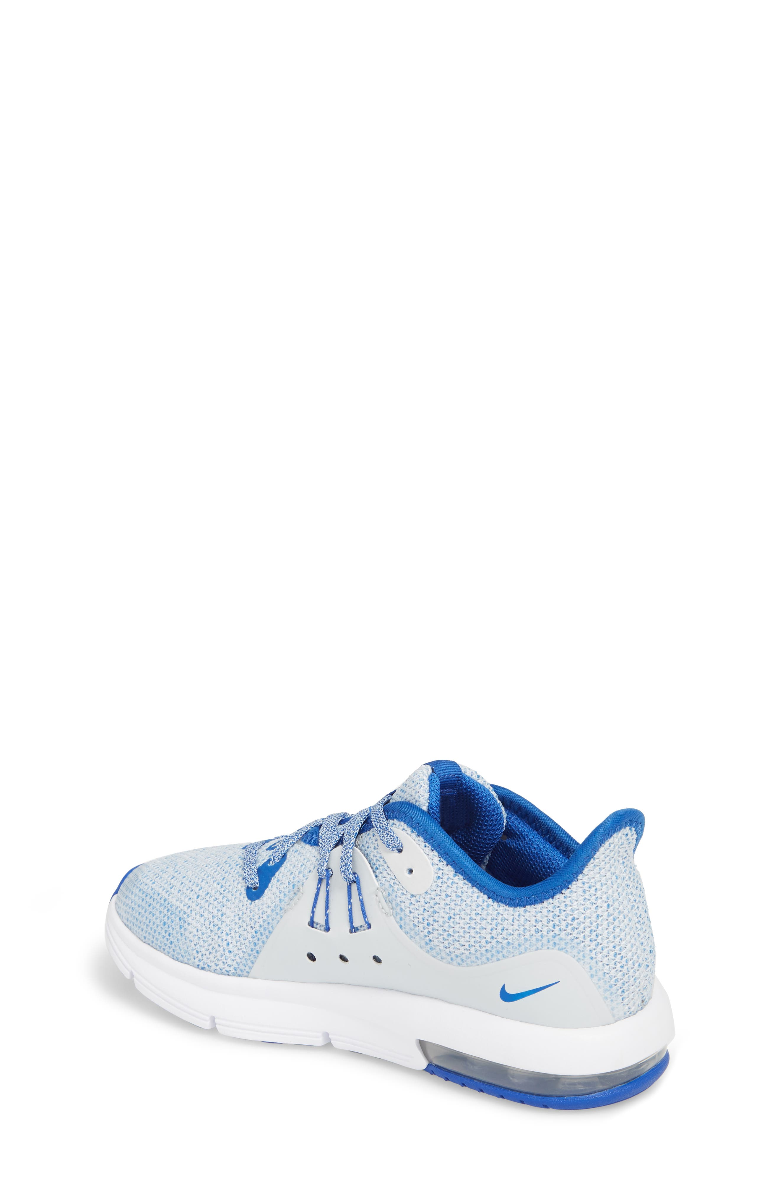 Alternate Image 2  - Nike Air Max Sequent 3 GS Running Shoe (Toddler, Little Kid & Big Kid)