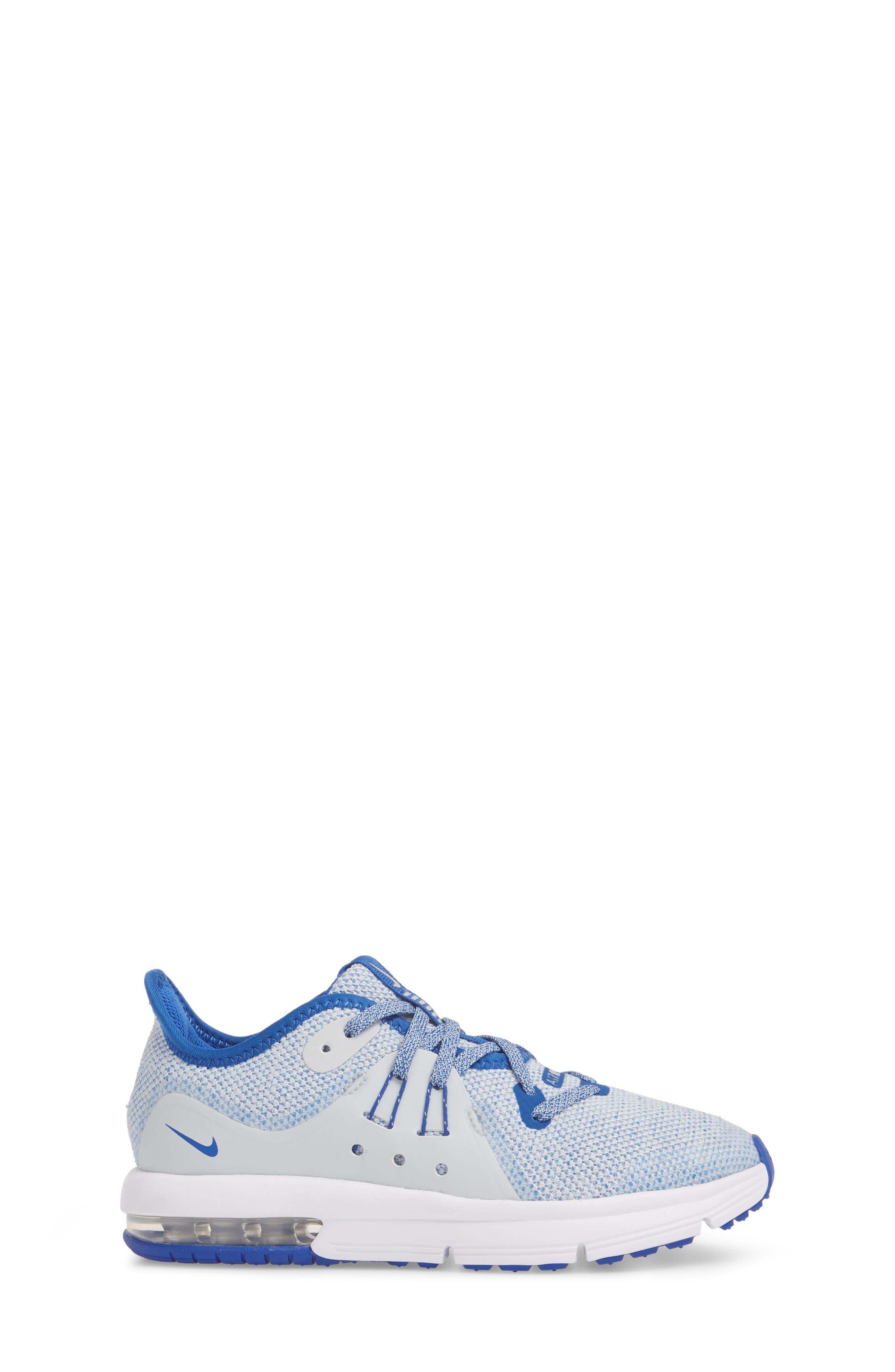 Alternate Image 3  - Nike Air Max Sequent 3 GS Running Shoe (Toddler, Little Kid & Big Kid)