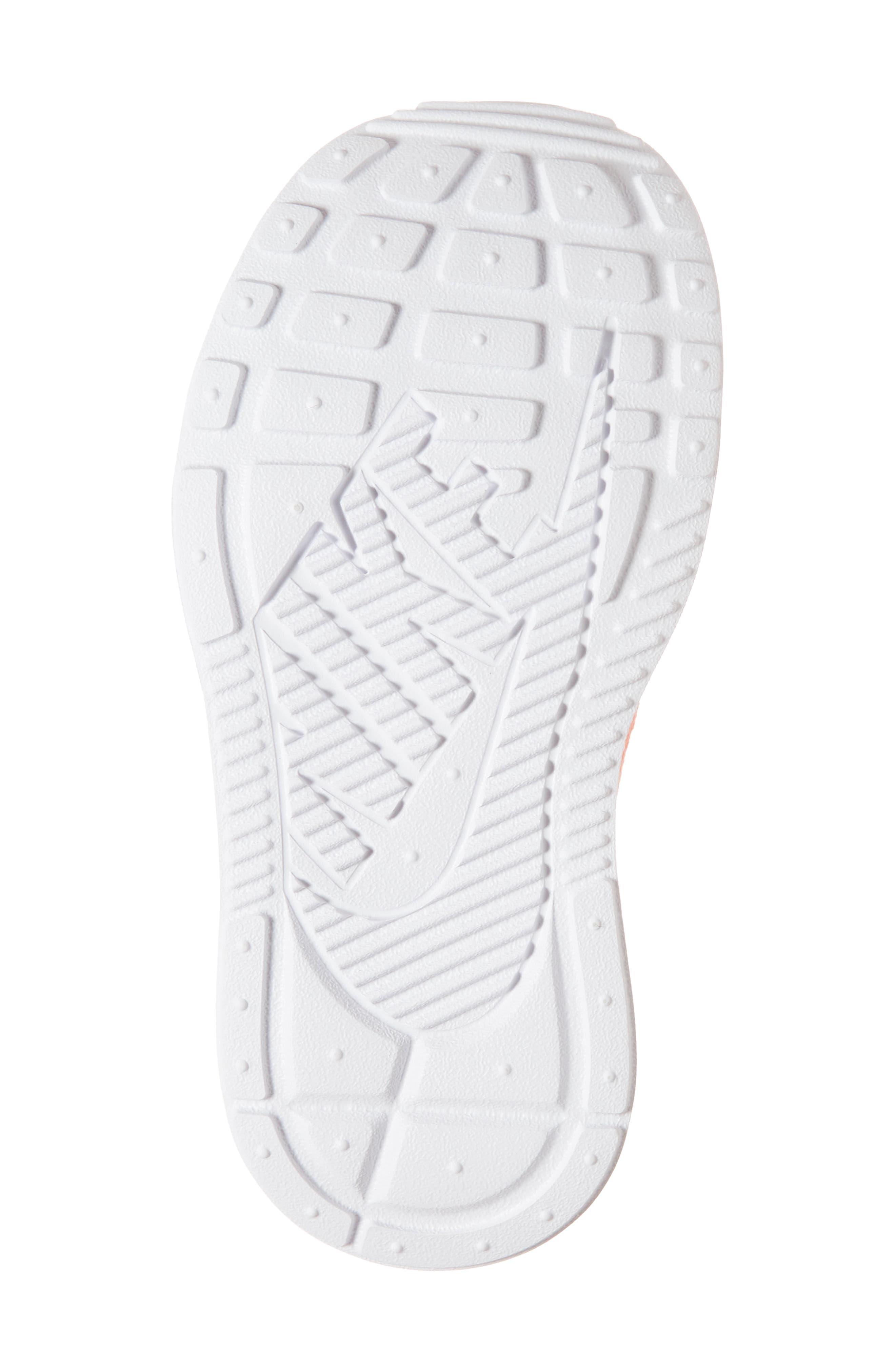 Ashin Modern Sock Knit Sneaker,                             Alternate thumbnail 6, color,                             Atomic Pink/ Metallic Silver