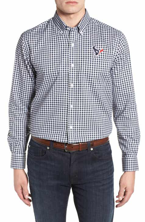 Cutter   Buck League Houston Texans Regular Fit Shirt 8596711ab