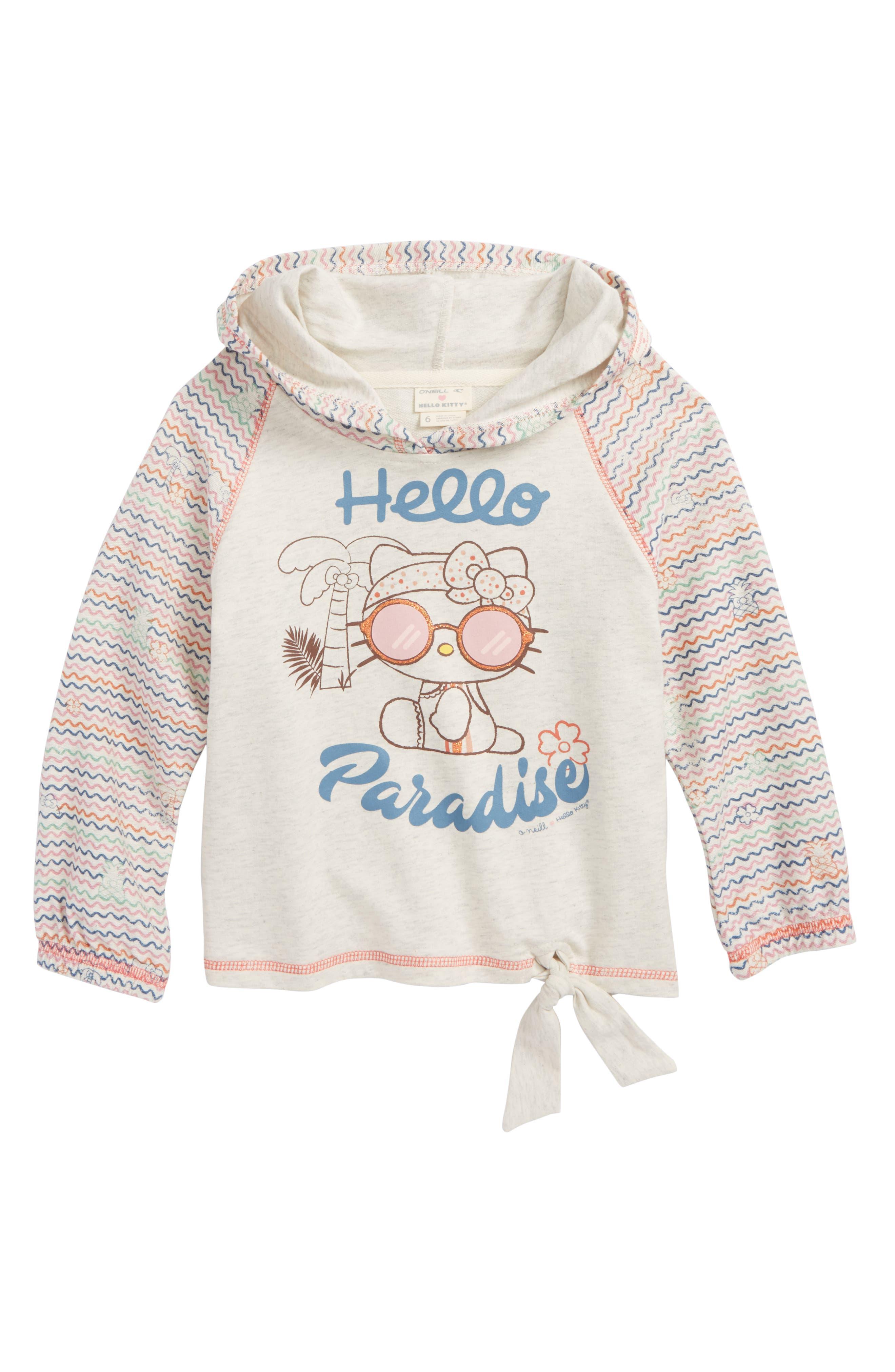 x Hello Kitty<sup>®</sup> Hello Paradise,                         Main,                         color, Oatmeal Heather
