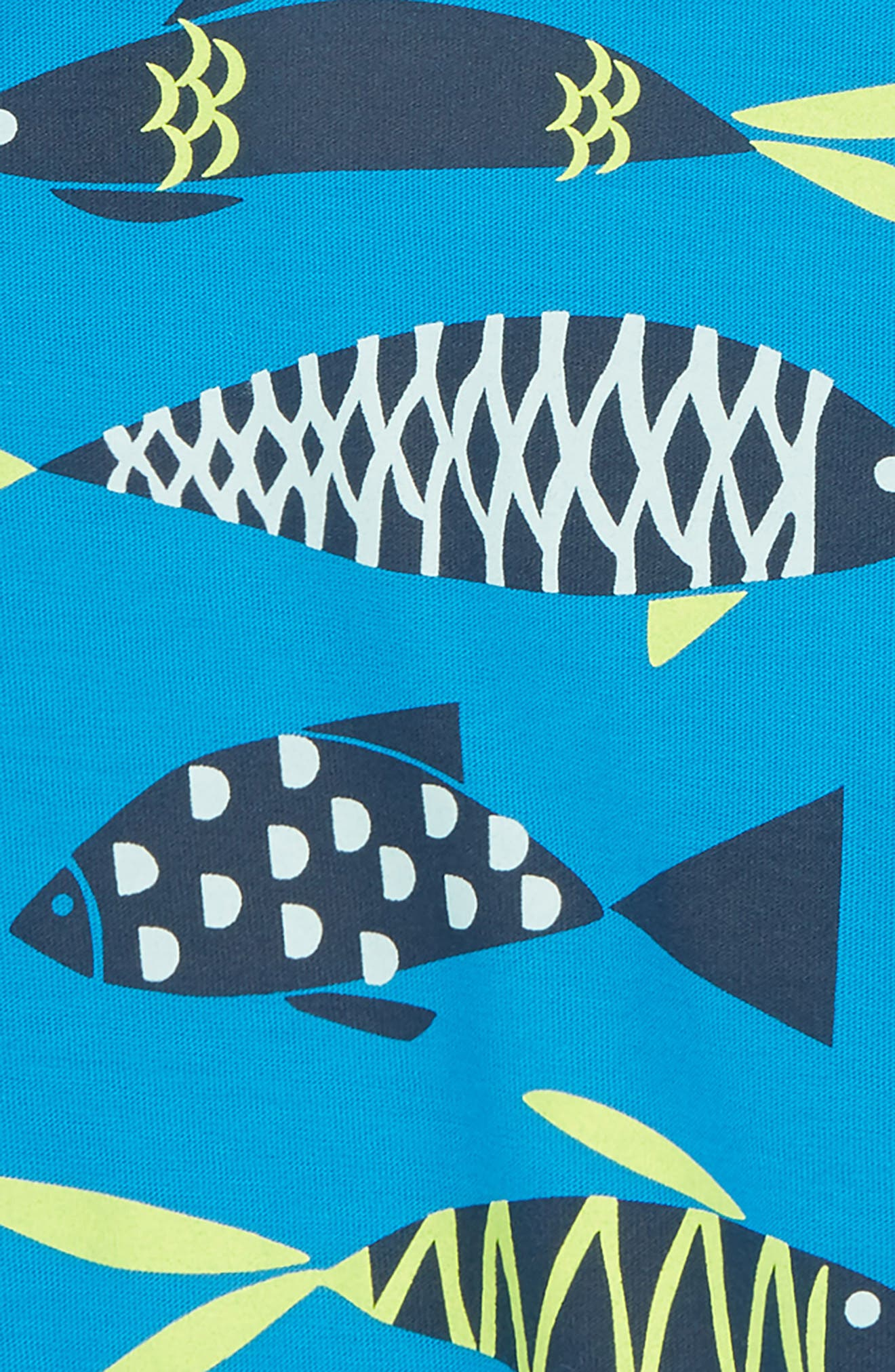 School of Fish Graphic T-Shirt,                             Alternate thumbnail 2, color,                             Tropic