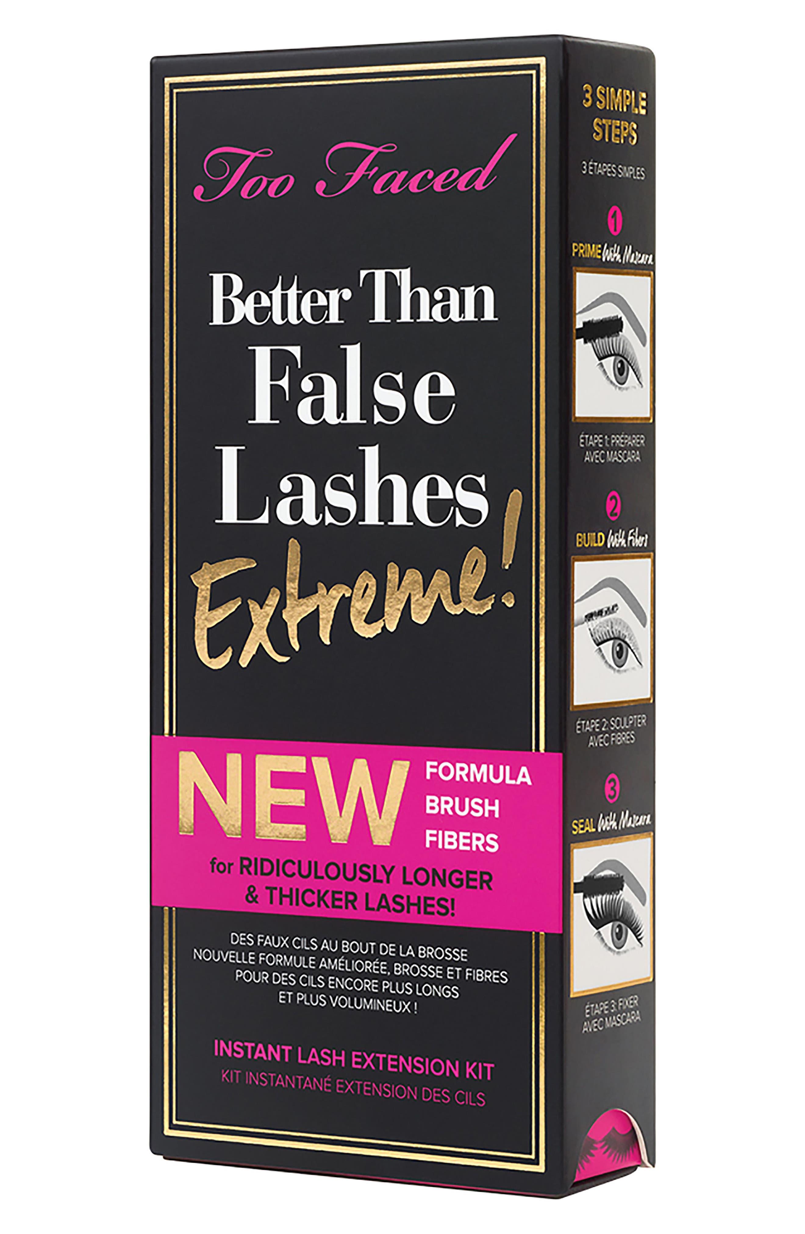 Better Than False Lashes Extreme! Lash Extension Kit,                             Alternate thumbnail 5, color,                             Black