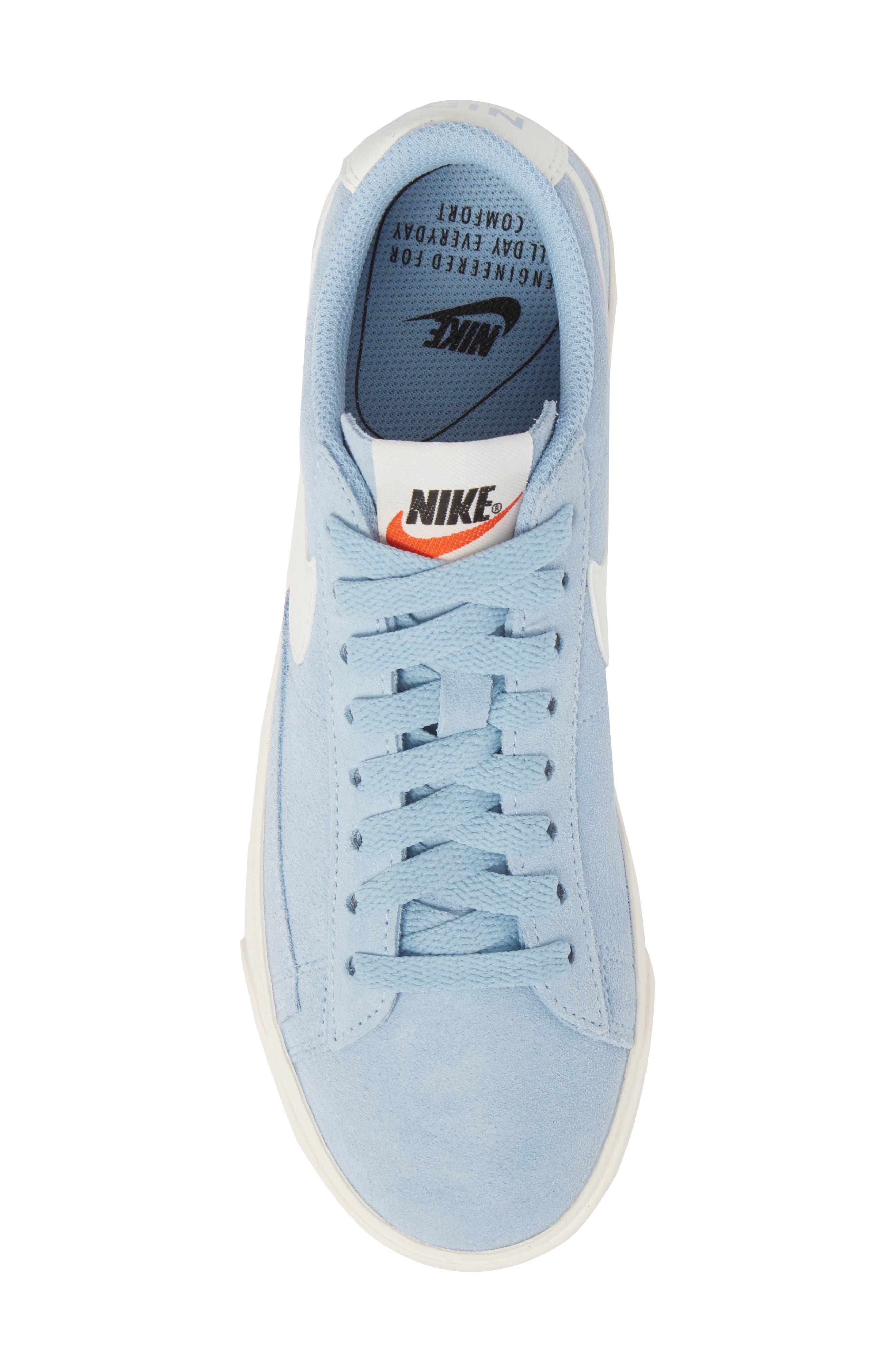 Alternate Image 5  - Nike Blazer Low Sneaker (Women)