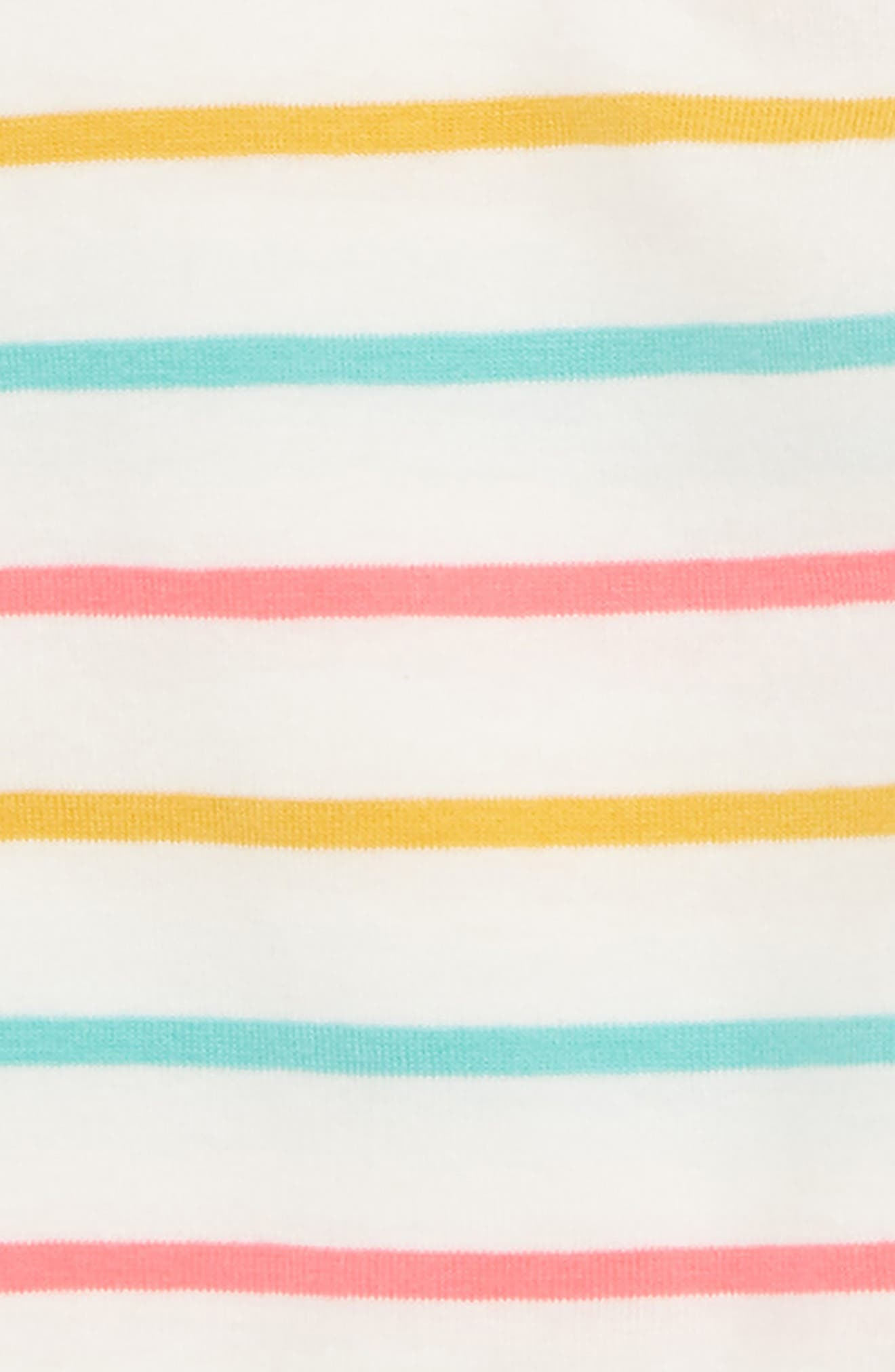 Stripe Leggings,                             Alternate thumbnail 2, color,                             Ivory Egret Multi Stripe