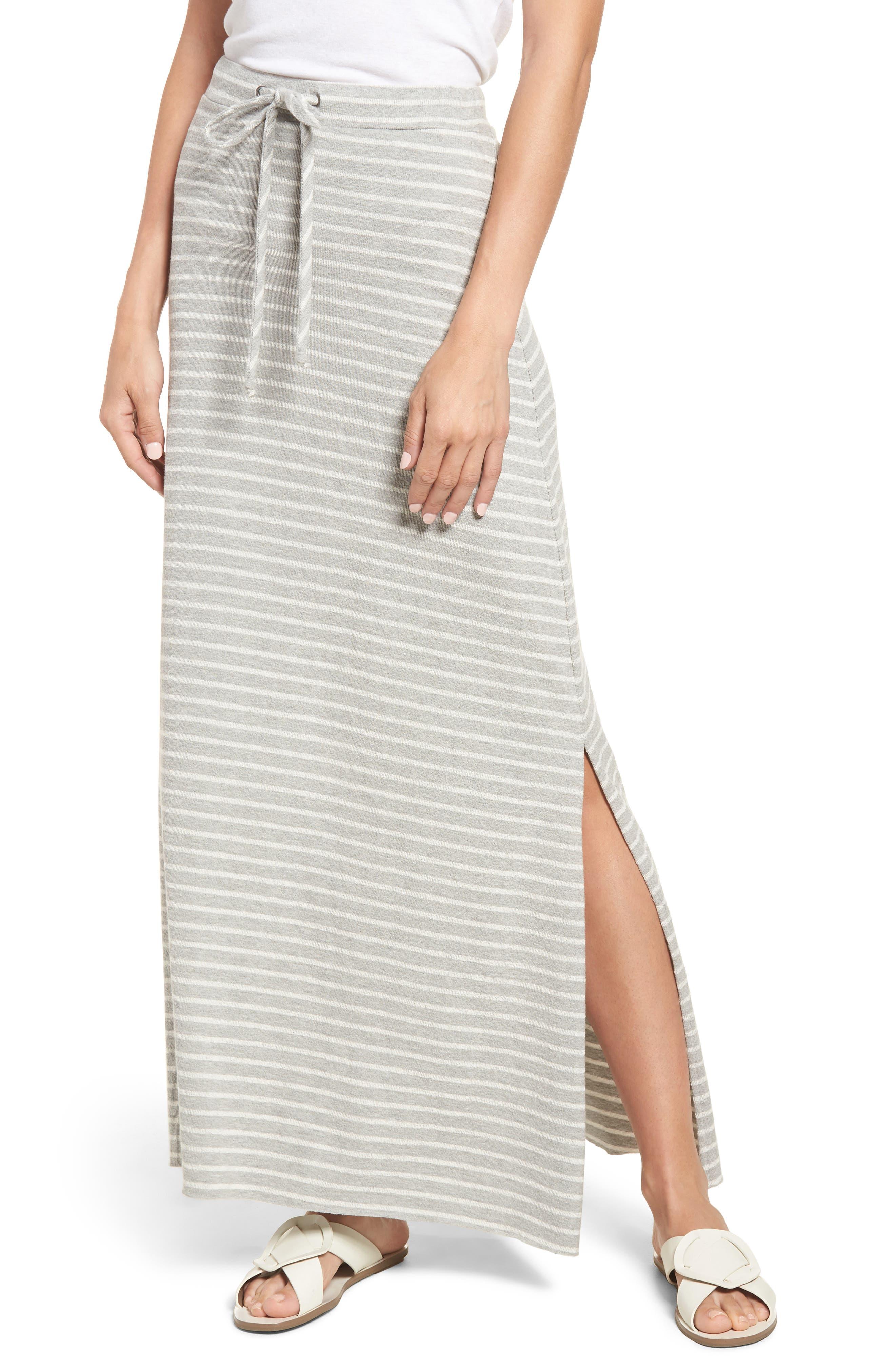 Caslon® Knit Maxi Skirt (Regular & Petite)