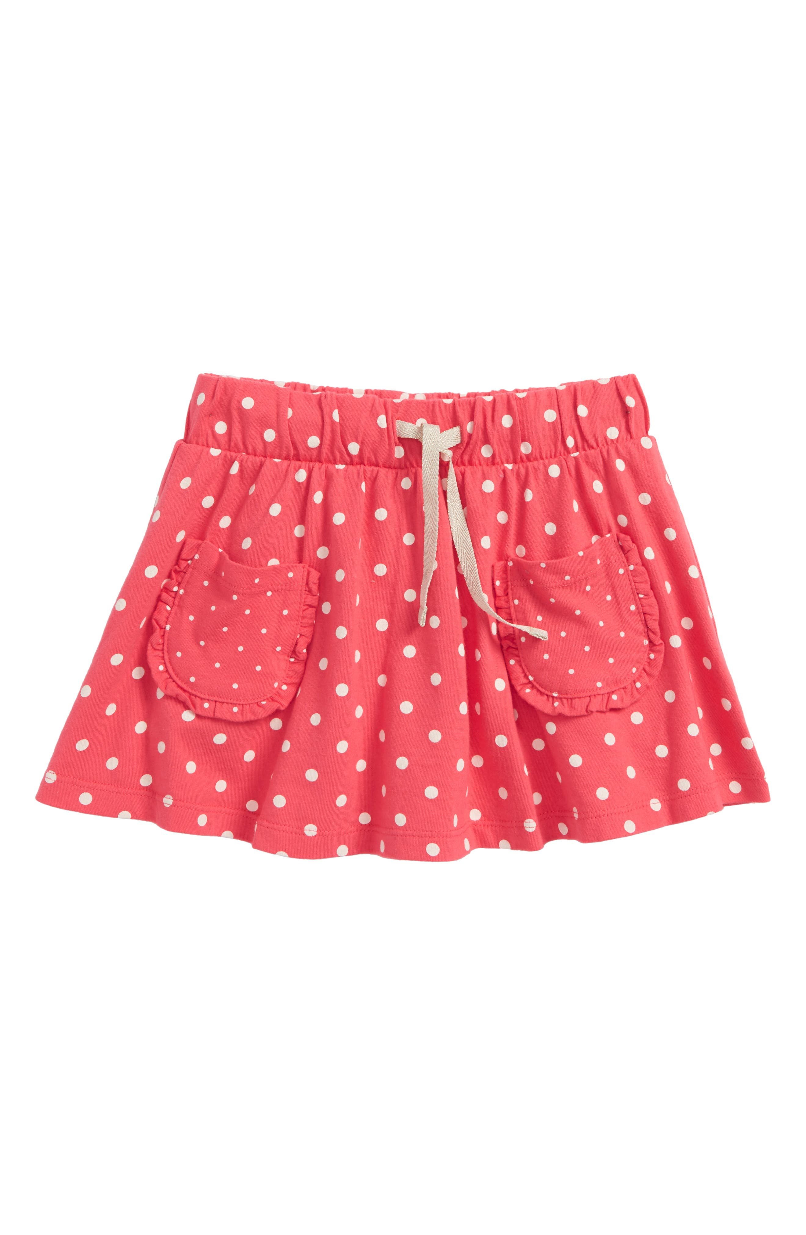 Mini Boden Spotty Jersey Skort (Toddler Girls, Little Girls & Big Girls)