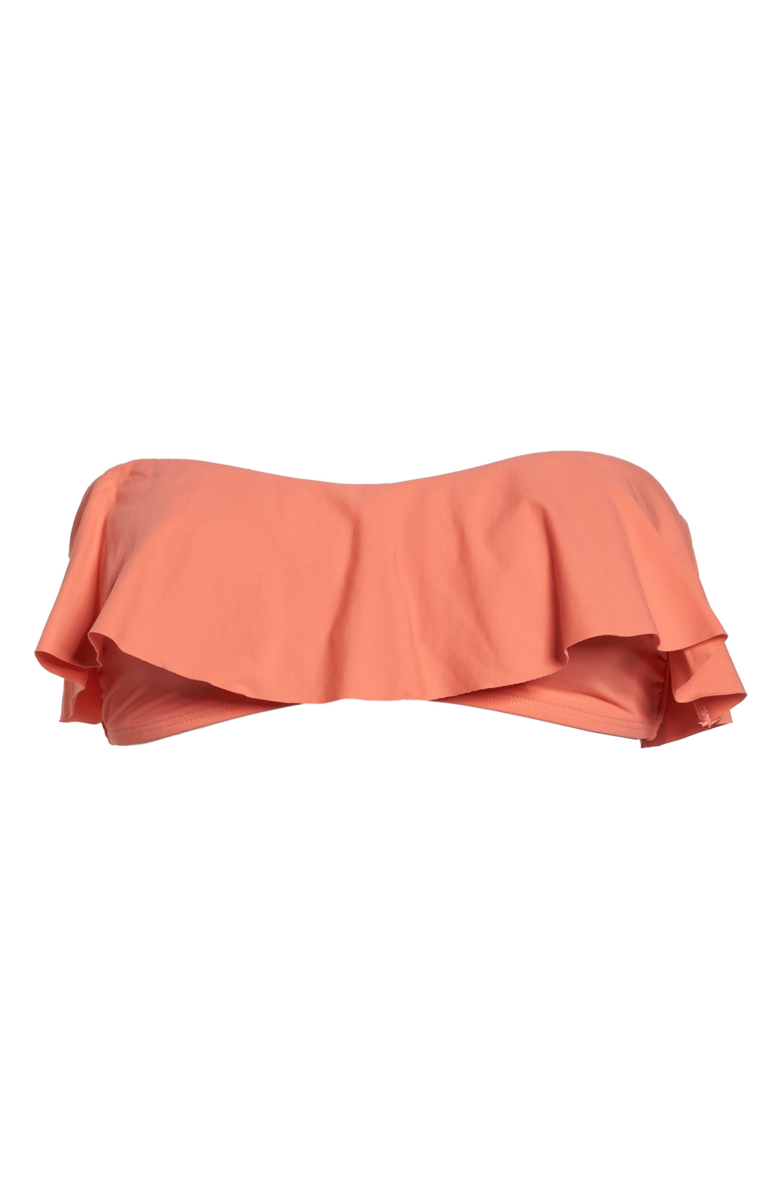 Lynn Ruffle Bikini Top,                             Alternate thumbnail 9, color,                             Fruit Punch