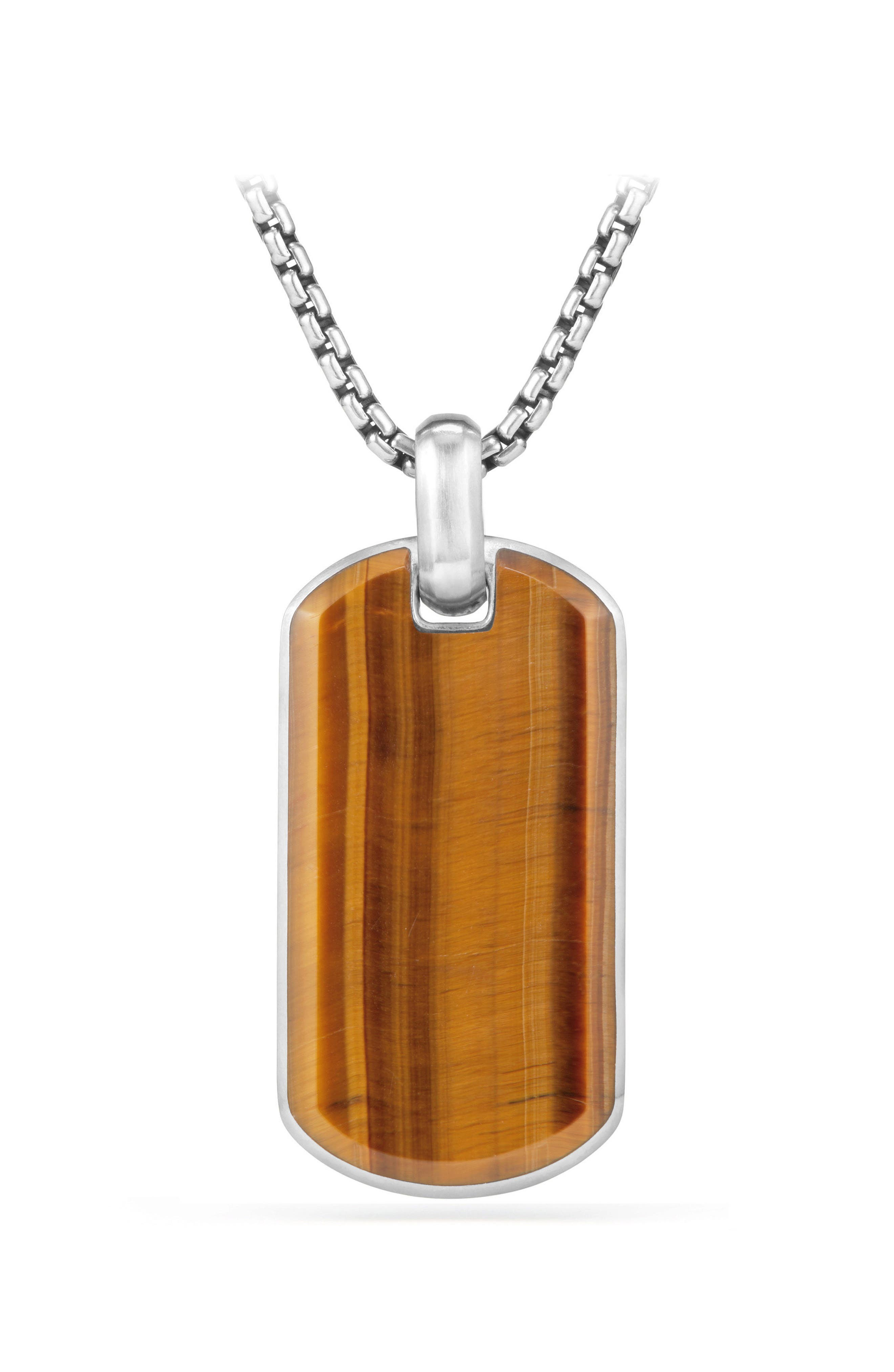 Exotic Tigers Eye Stone Tag,                         Main,                         color, Tigers Eye