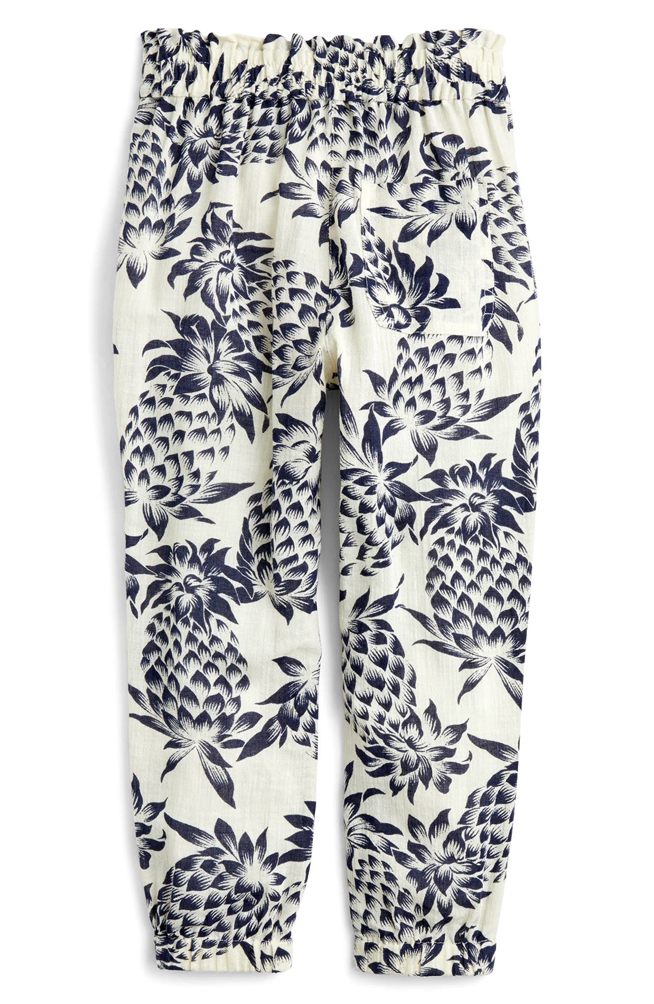 Wallace Pineapple Print Pants,                             Alternate thumbnail 2, color,                             Champagne Indigo