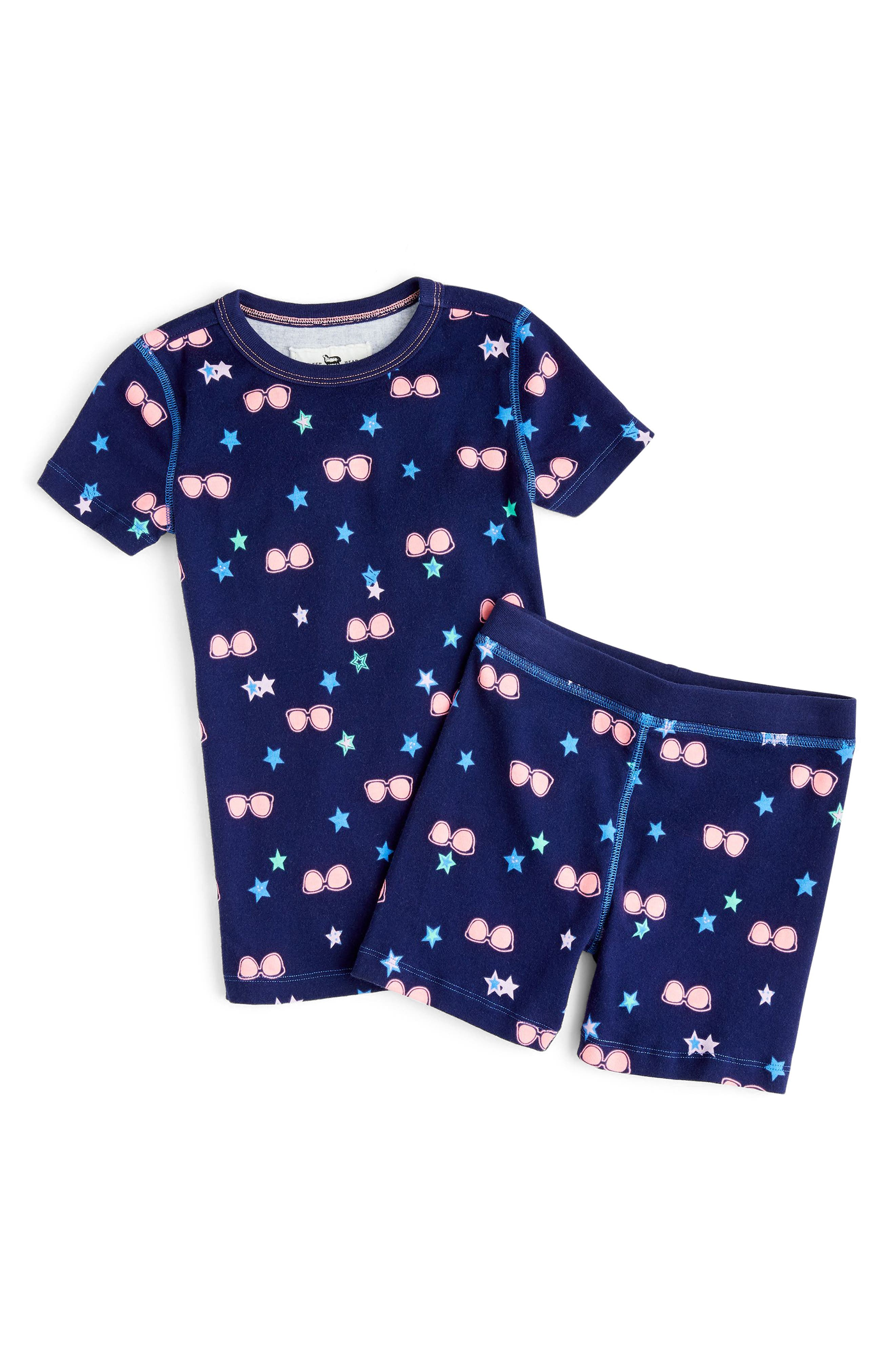 crewcuts by J. Crew Fitted Two-Piece Pajamas (Toddler Girls, Little Girls & Big Girls)