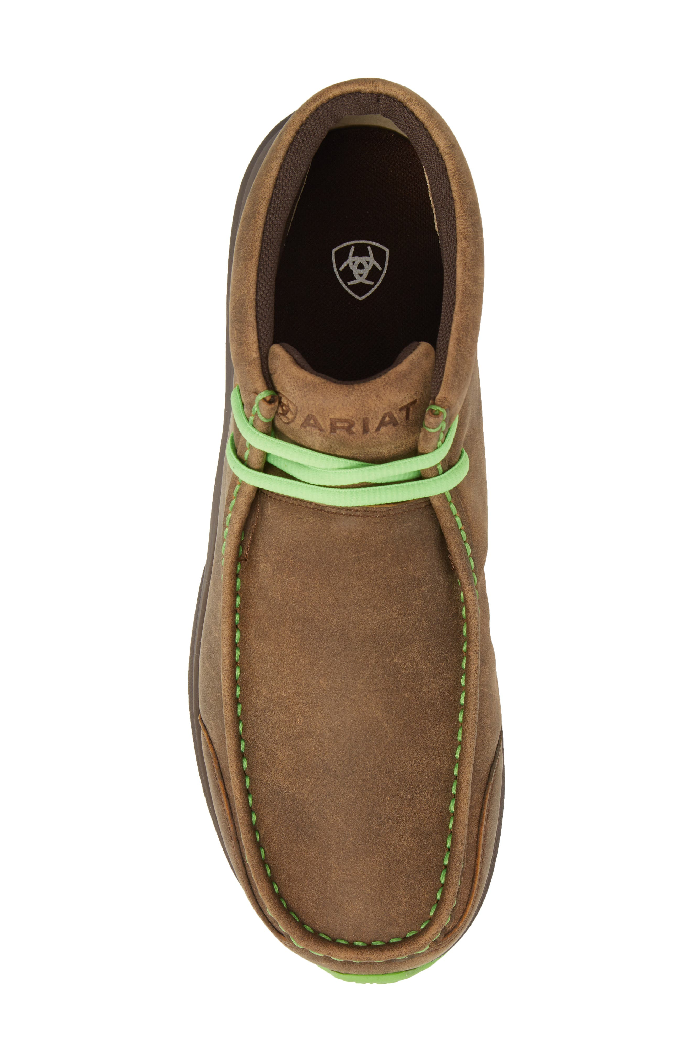 Spitfire Chukka Boot,                             Alternate thumbnail 5, color,                             Brown Bomber Leather