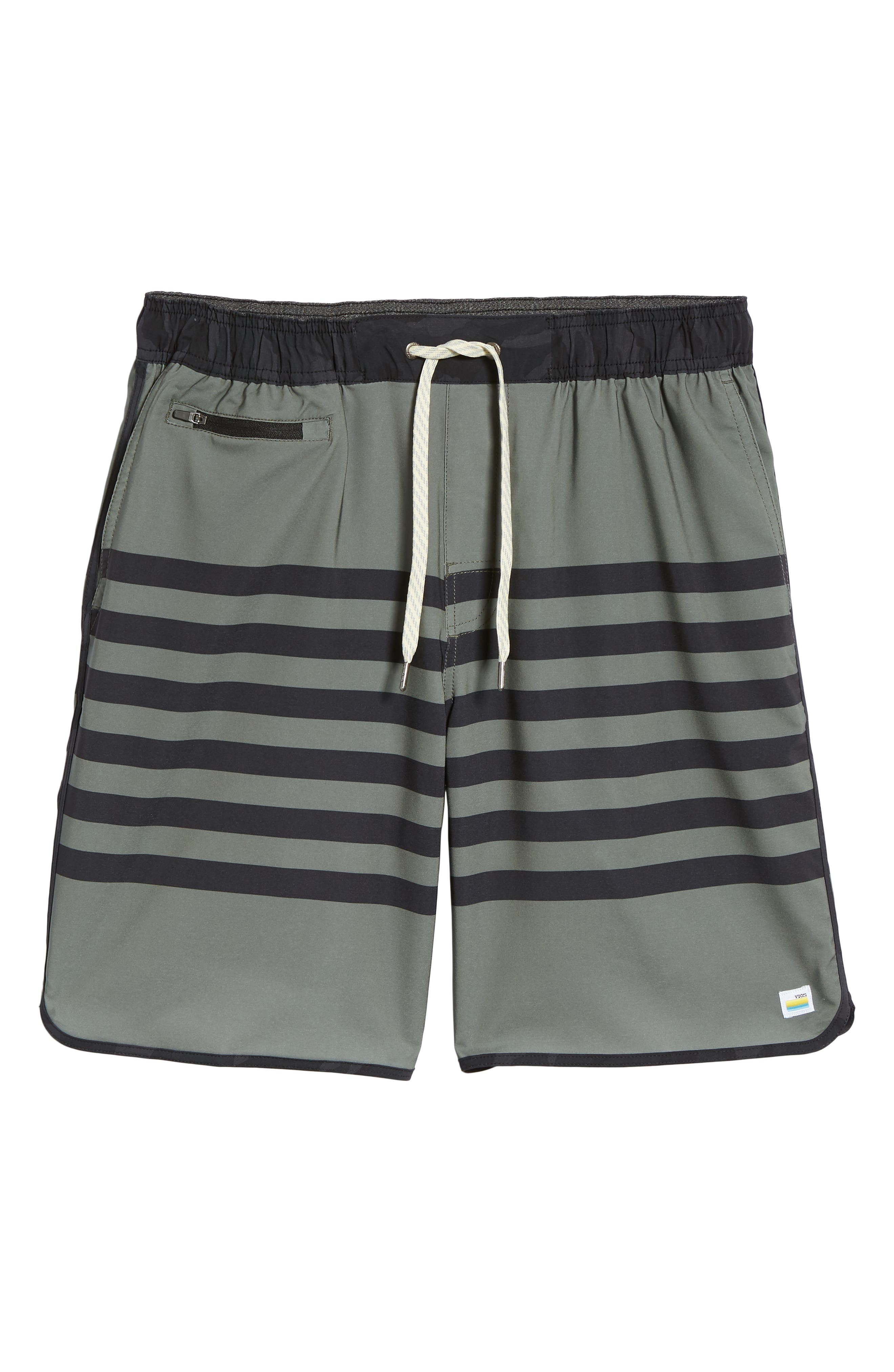 Banks Shorts,                             Alternate thumbnail 6, color,                             Army Stripe