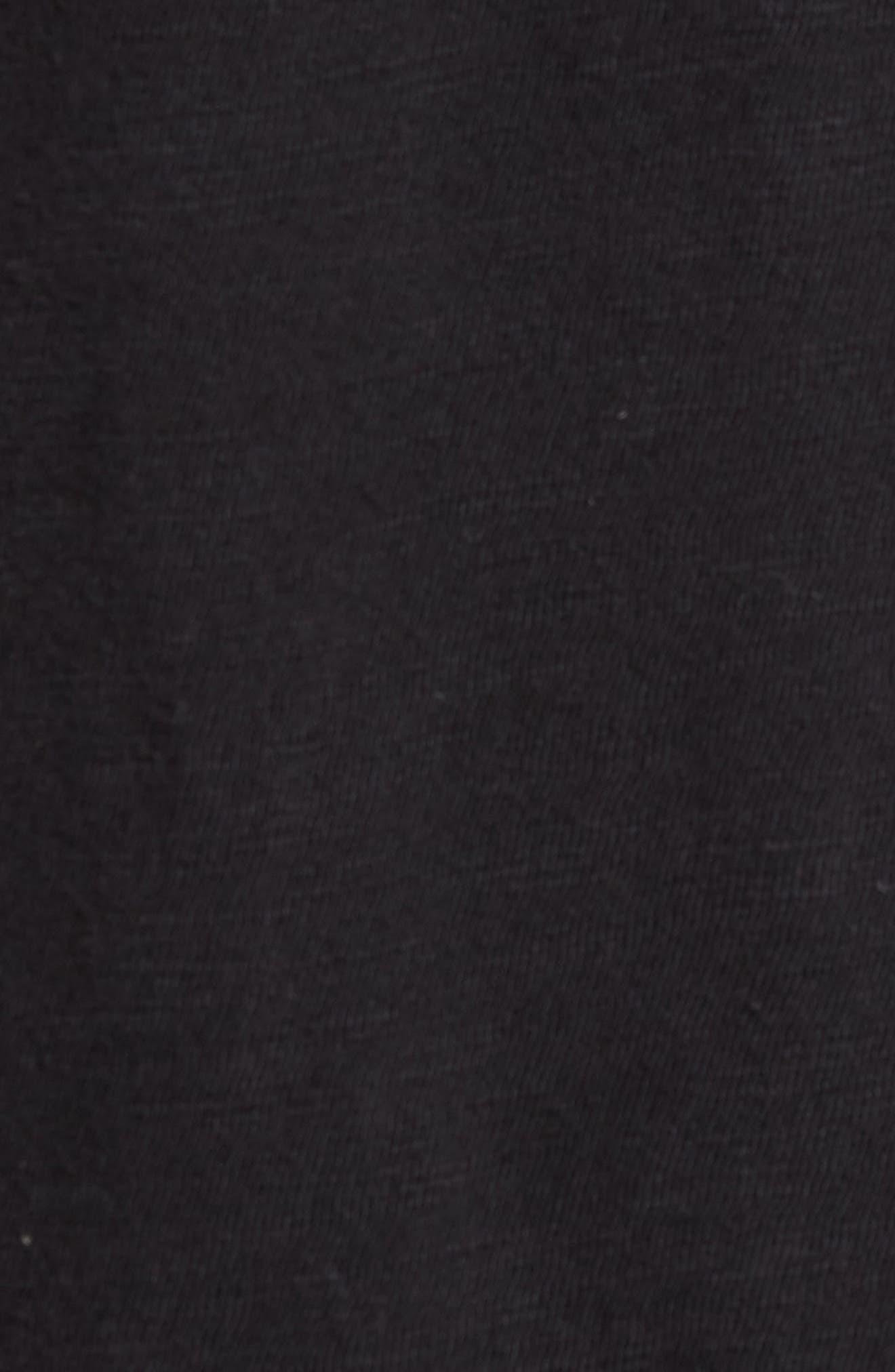 + Champion T-Shirt,                             Alternate thumbnail 5, color,                             Black