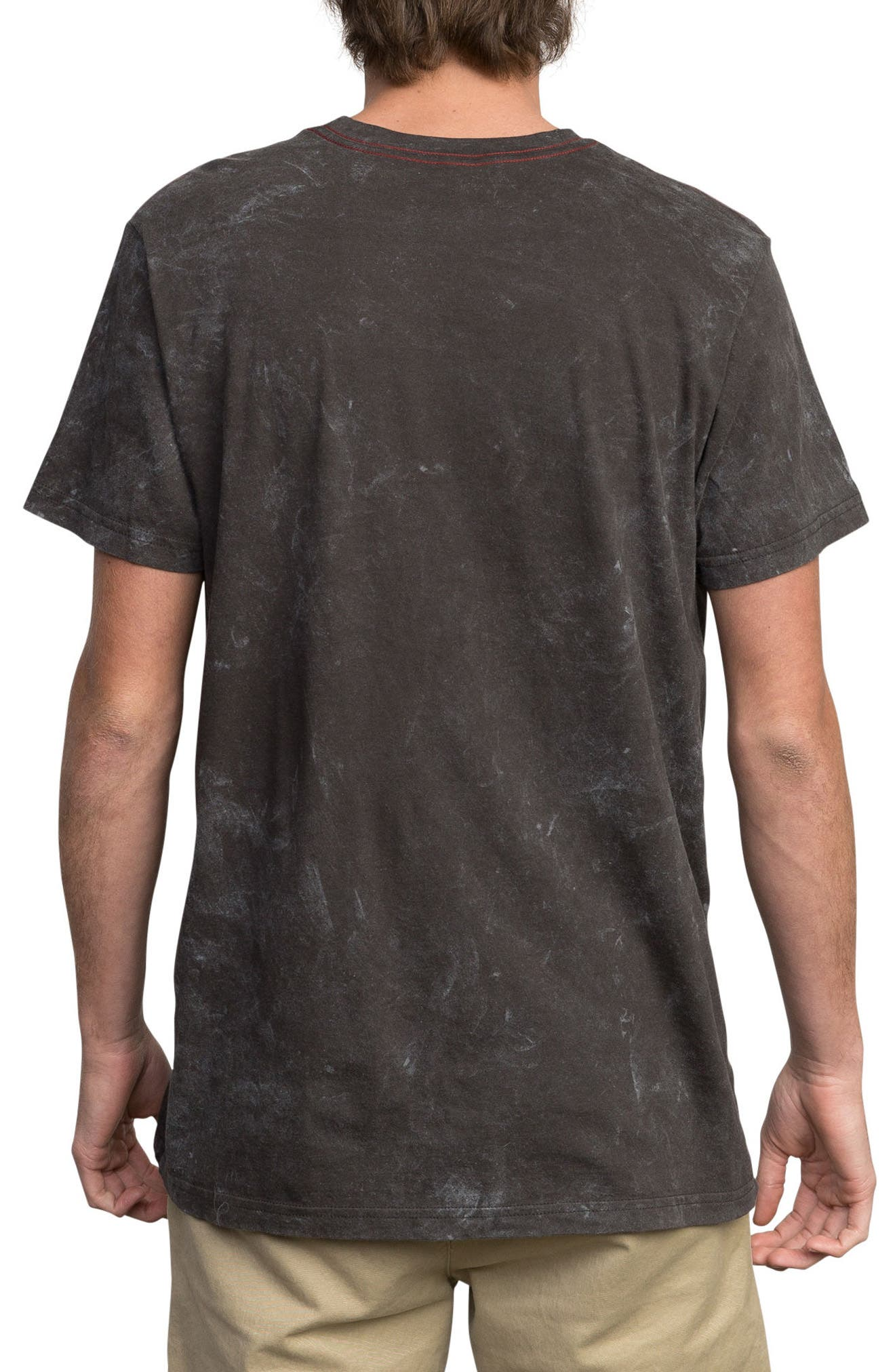 Static Box Graphic T-Shirt,                             Alternate thumbnail 2, color,                             Pirate Black