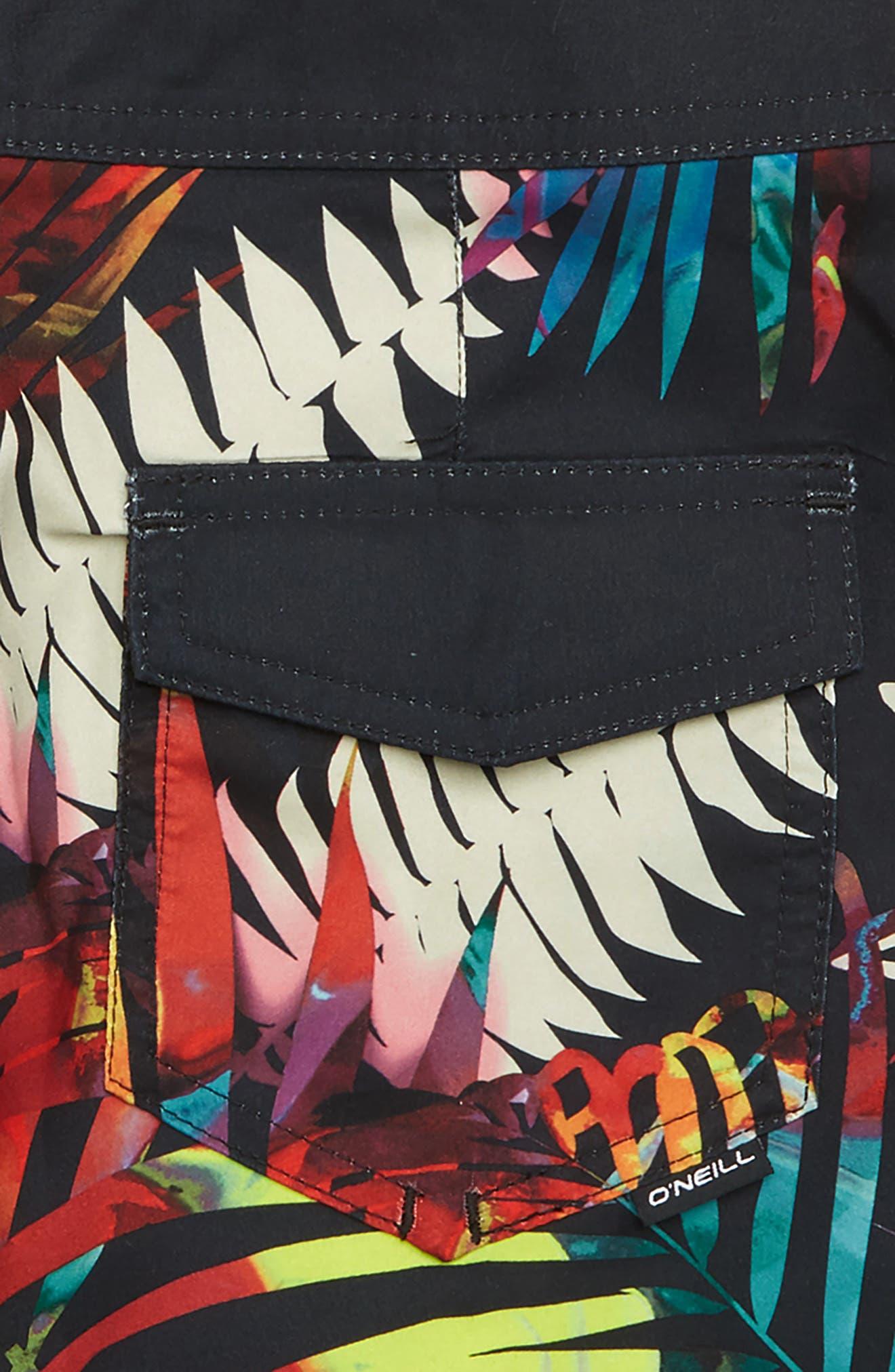 Mondaze Board Shorts,                             Alternate thumbnail 3, color,                             Multi