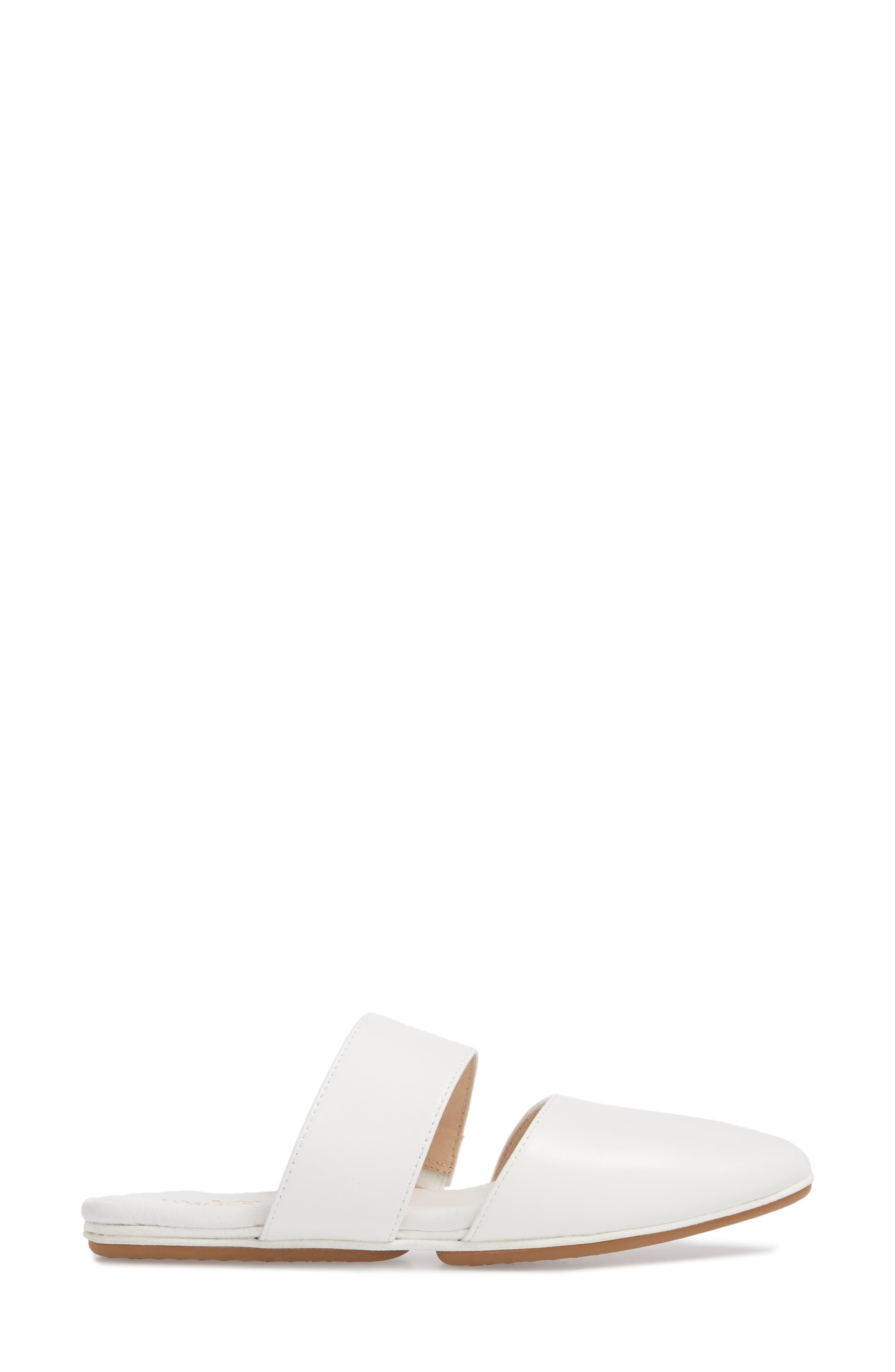 Vicky Slide Sandal,                             Alternate thumbnail 3, color,                             White