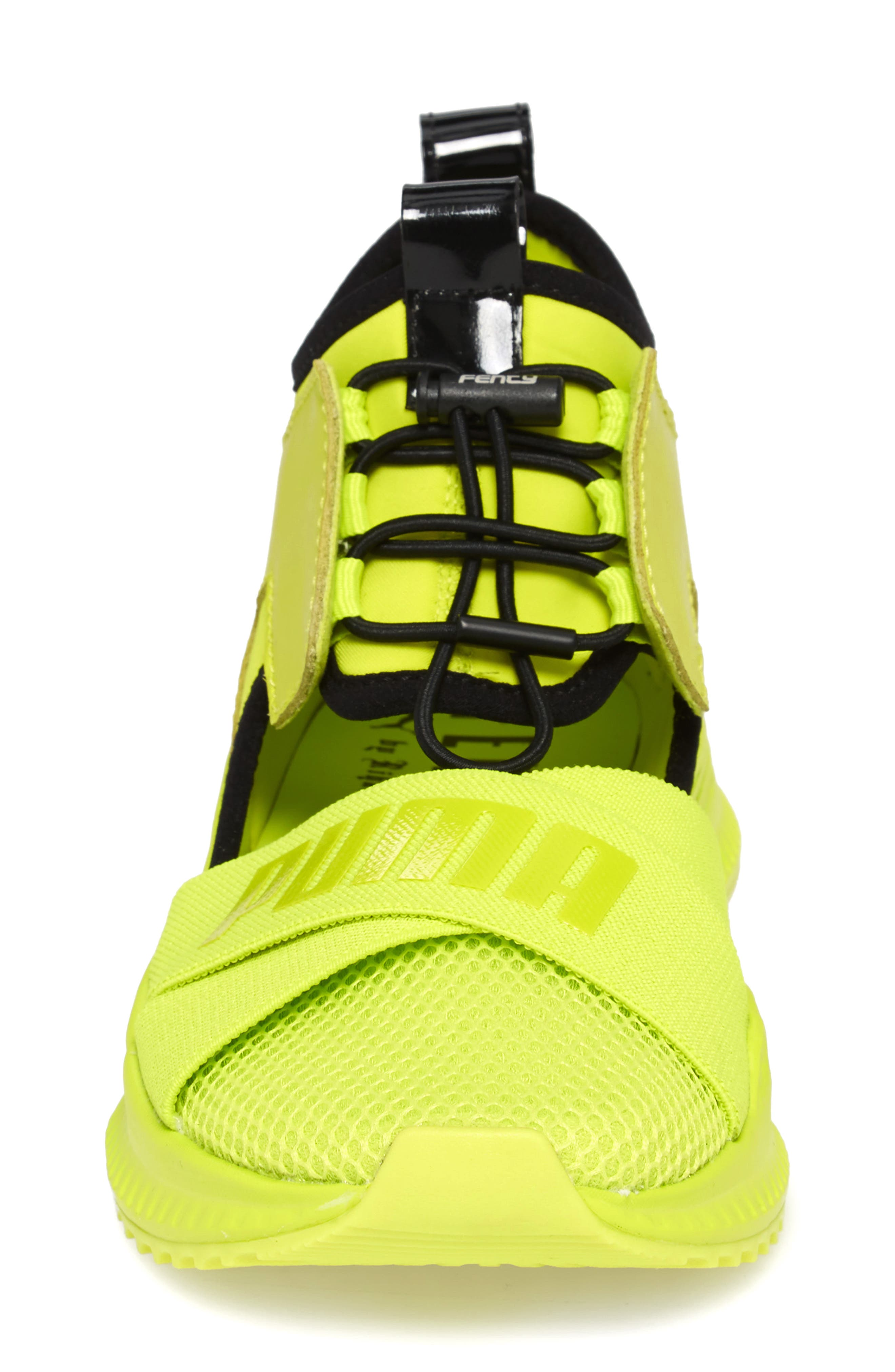 FENTY PUMA by Rihanna Avid Sneaker,                             Alternate thumbnail 4, color,                             Lime Punch/ Black/ Lime Punch